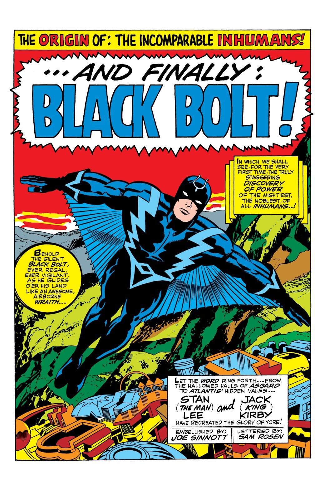 Read online Marvel Masterworks: The Inhumans comic -  Issue # TPB 1 (Part 1) - 18