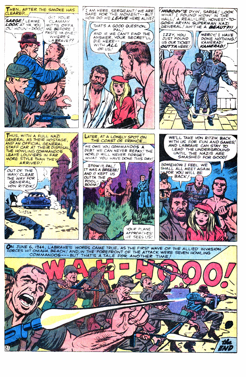 Read online Sgt. Fury comic -  Issue #167 - 34