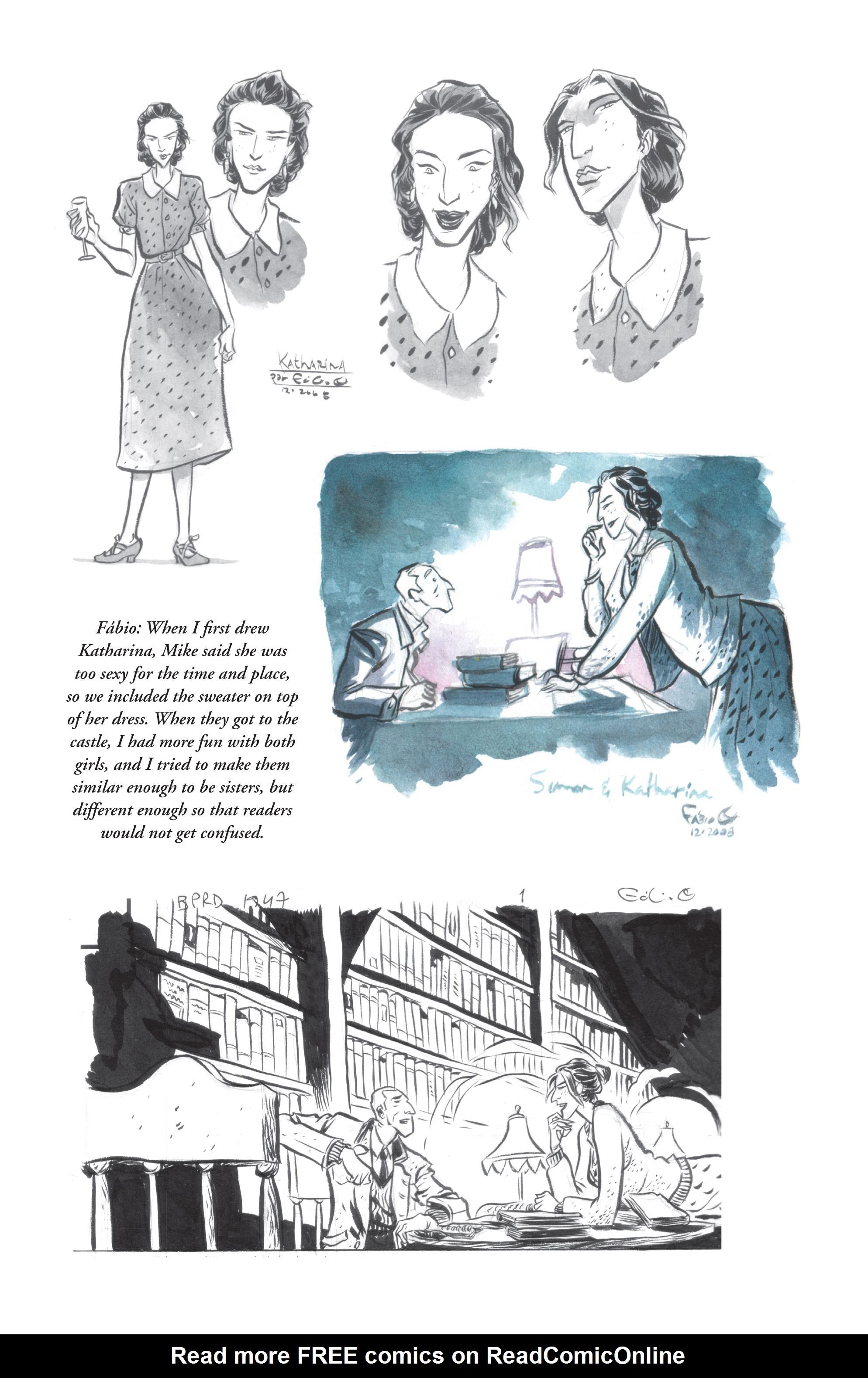 Read online B.P.R.D. (2003) comic -  Issue # TPB 13 - 149