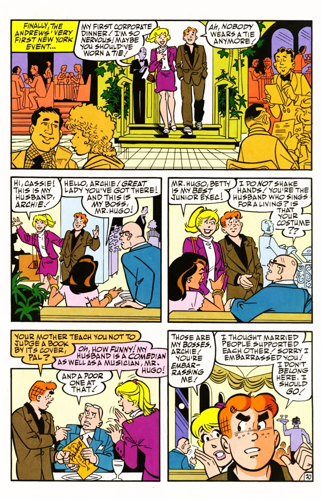 Read online Archie (1960) comic -  Issue #604 - 29