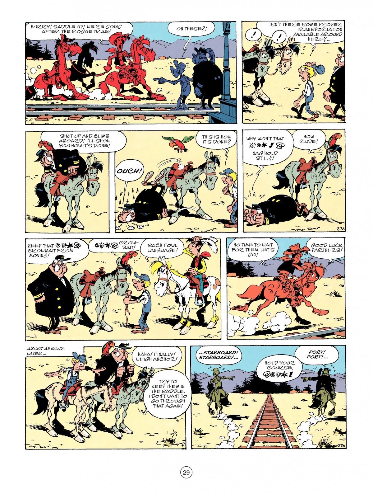 Read online A Lucky Luke Adventure comic -  Issue #53 - 29