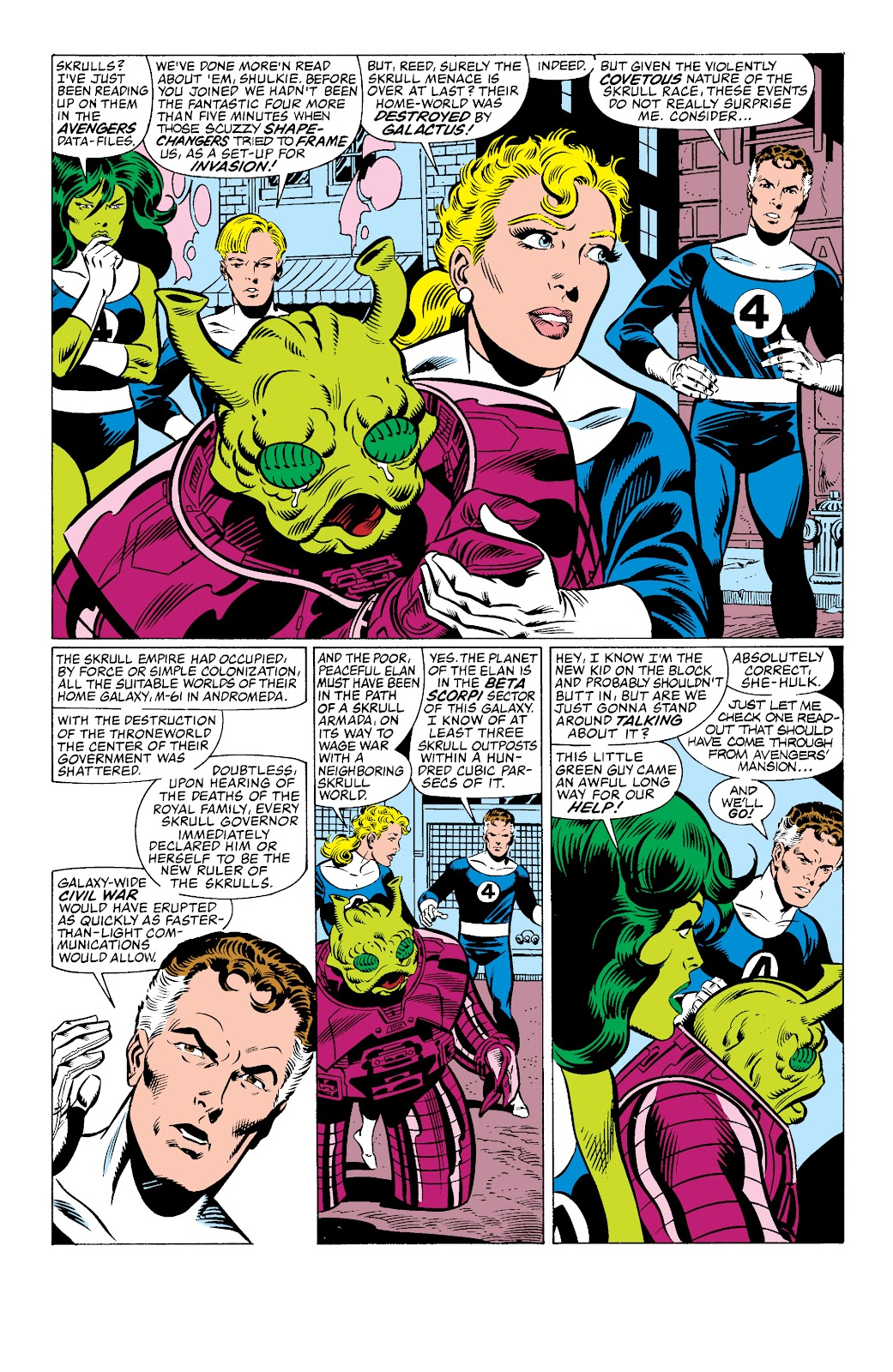 Read online Secret Invasion: Rise of the Skrulls comic -  Issue # TPB (Part 2) - 1