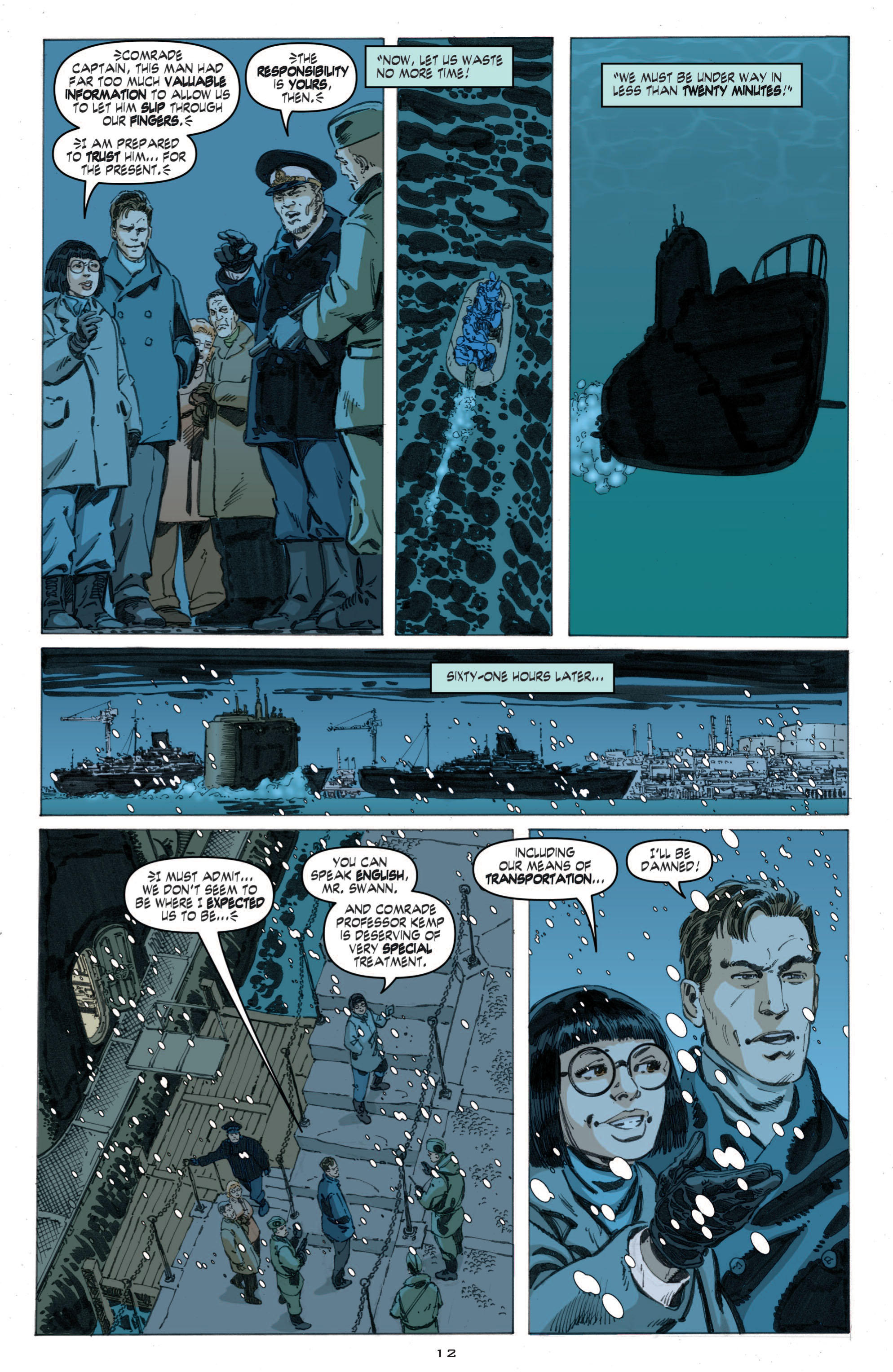 Read online Cold War comic -  Issue # TPB - 70