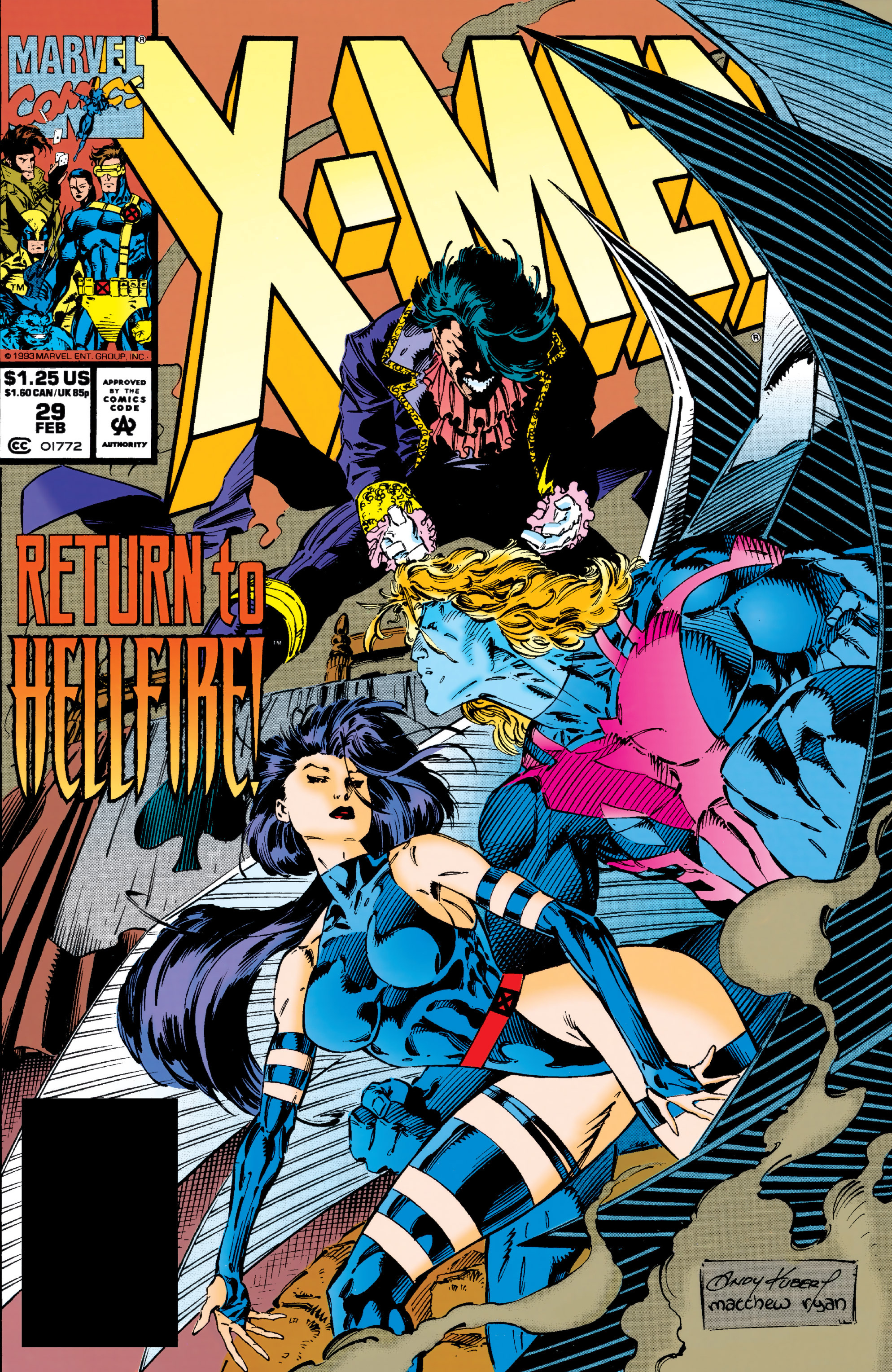X-Men (1991) 29 Page 0