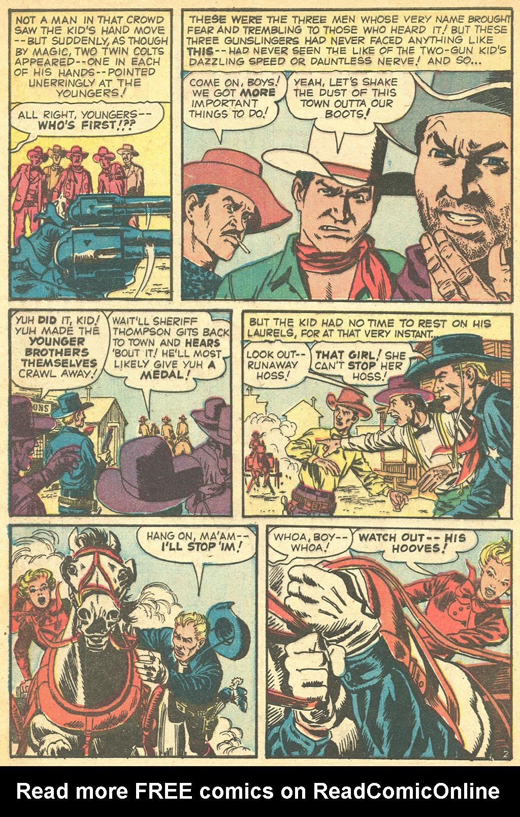 Read online Two-Gun Kid comic -  Issue #50 - 4