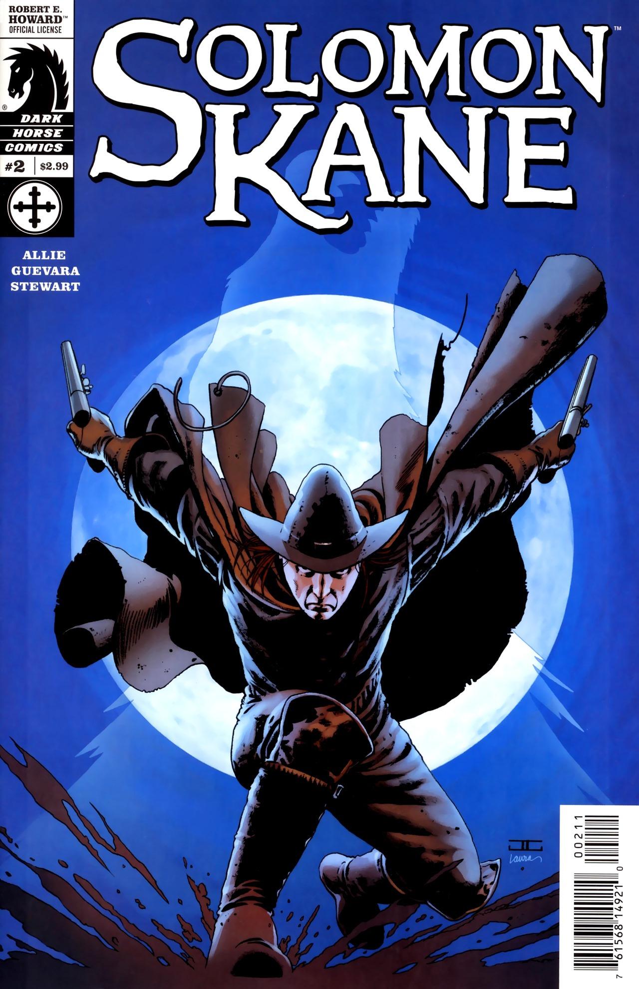 Read online Solomon Kane comic -  Issue #2 - 1