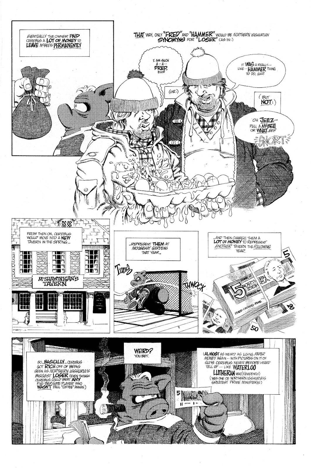 Cerebus Issue #267 #266 - English 13