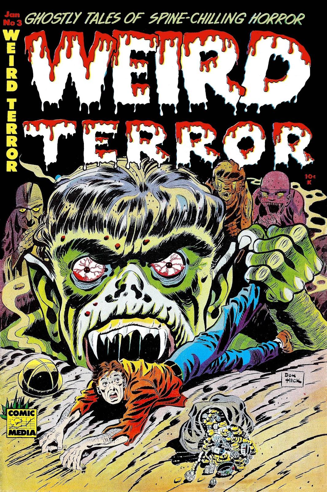Weird Terror issue 3 - Page 1