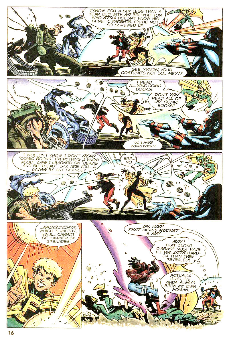 Read online Worlds Collide comic -  Issue # Full - 14