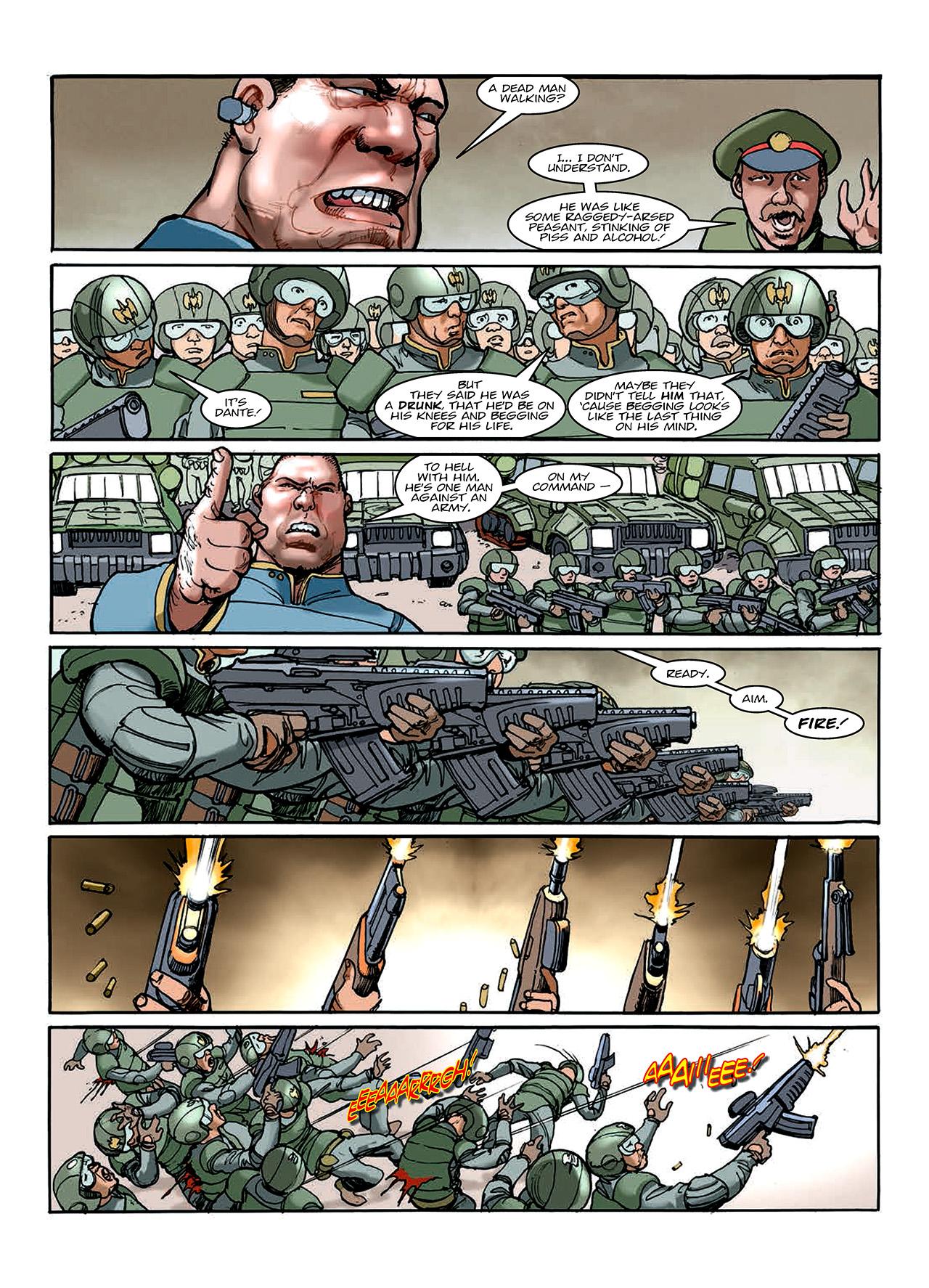 Read online Nikolai Dante comic -  Issue # TPB 10 - 154