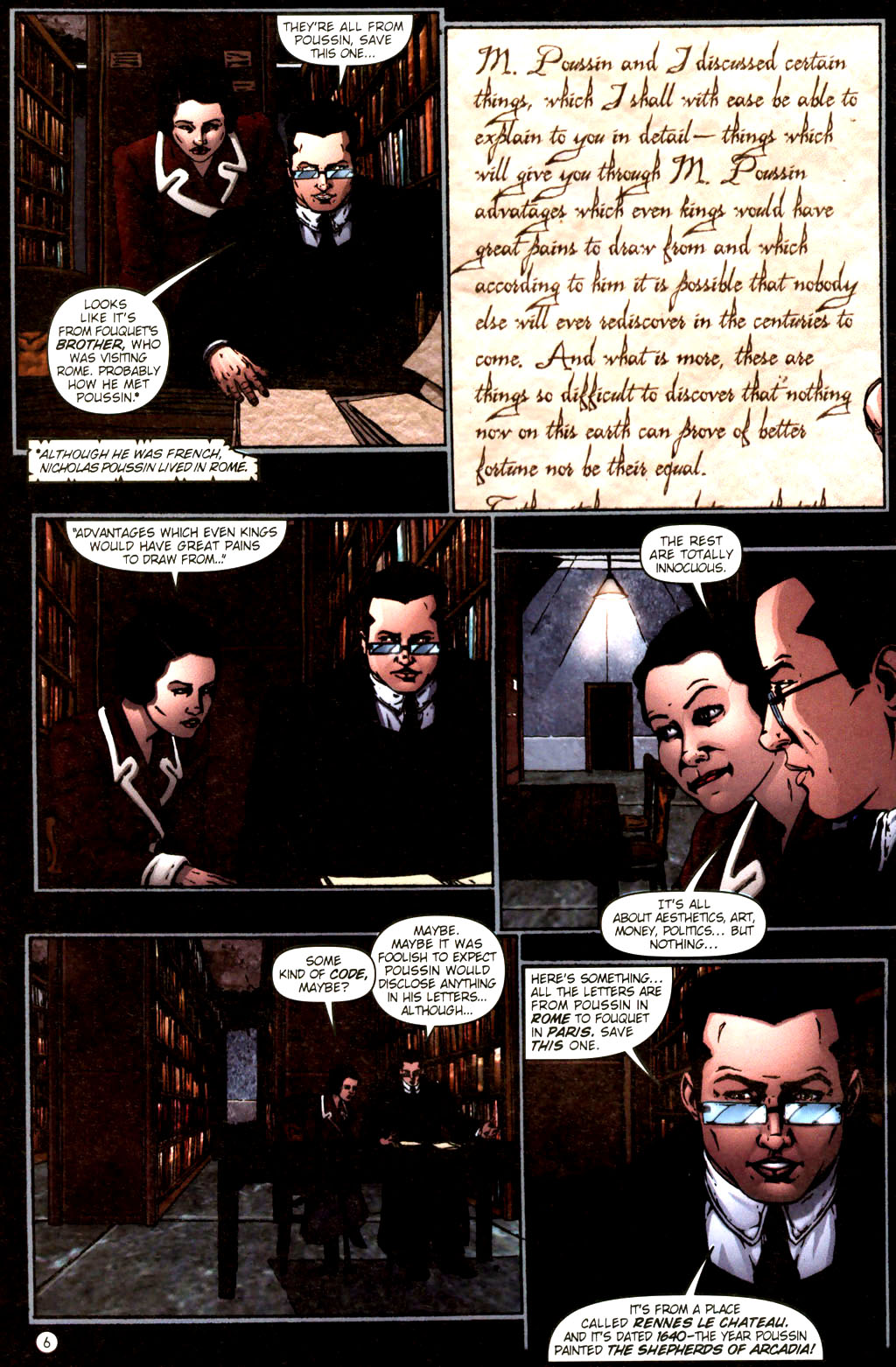 Read online Rex Mundi comic -  Issue #9 - 10
