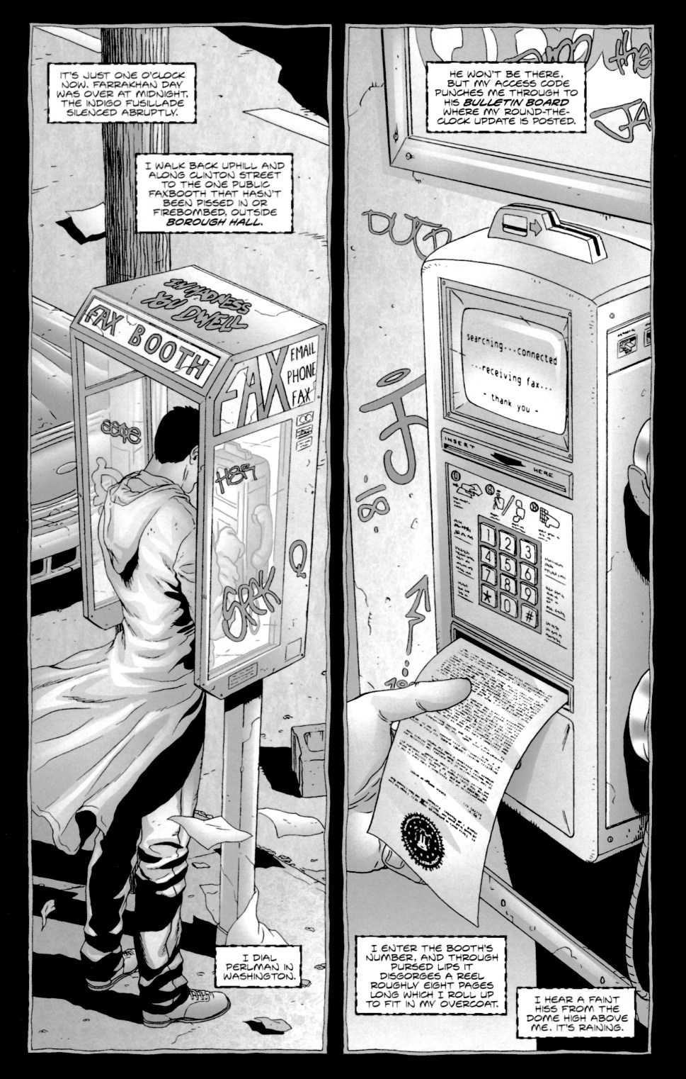 Read online Alan Moore's The Courtyard comic -  Issue #1 - 23