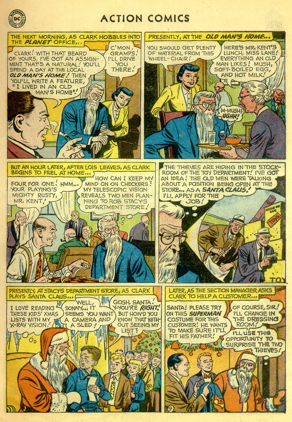 Read online Action Comics (1938) comic -  Issue #251 - 11
