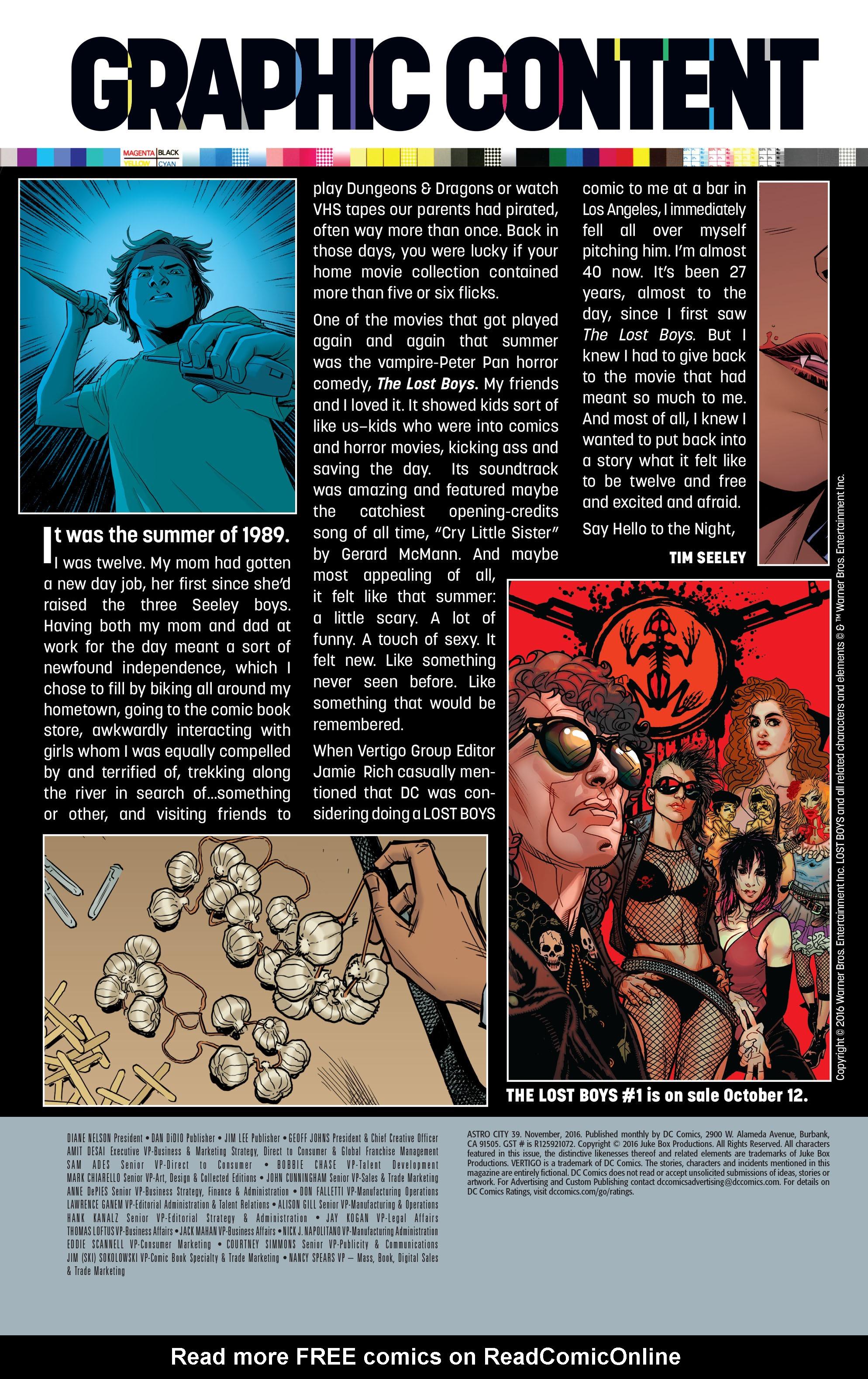 Read online Astro City comic -  Issue #39 - 28