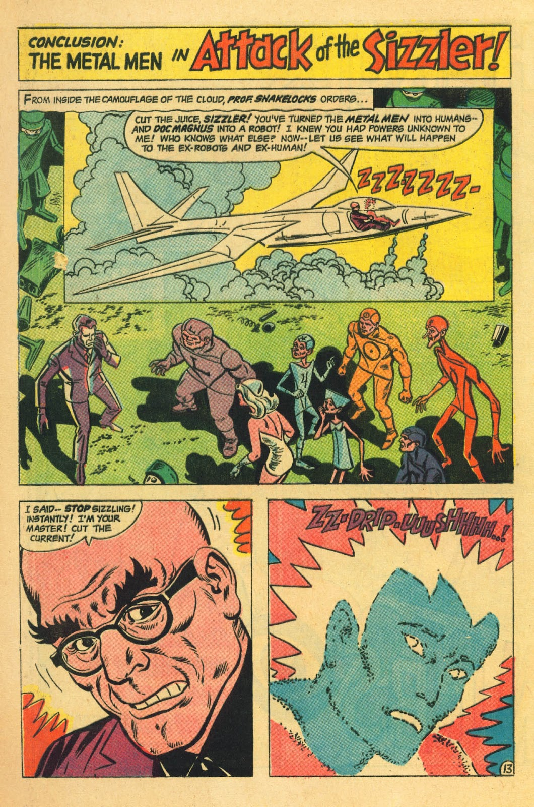 Metal Men (1963) issue 22 - Page 20