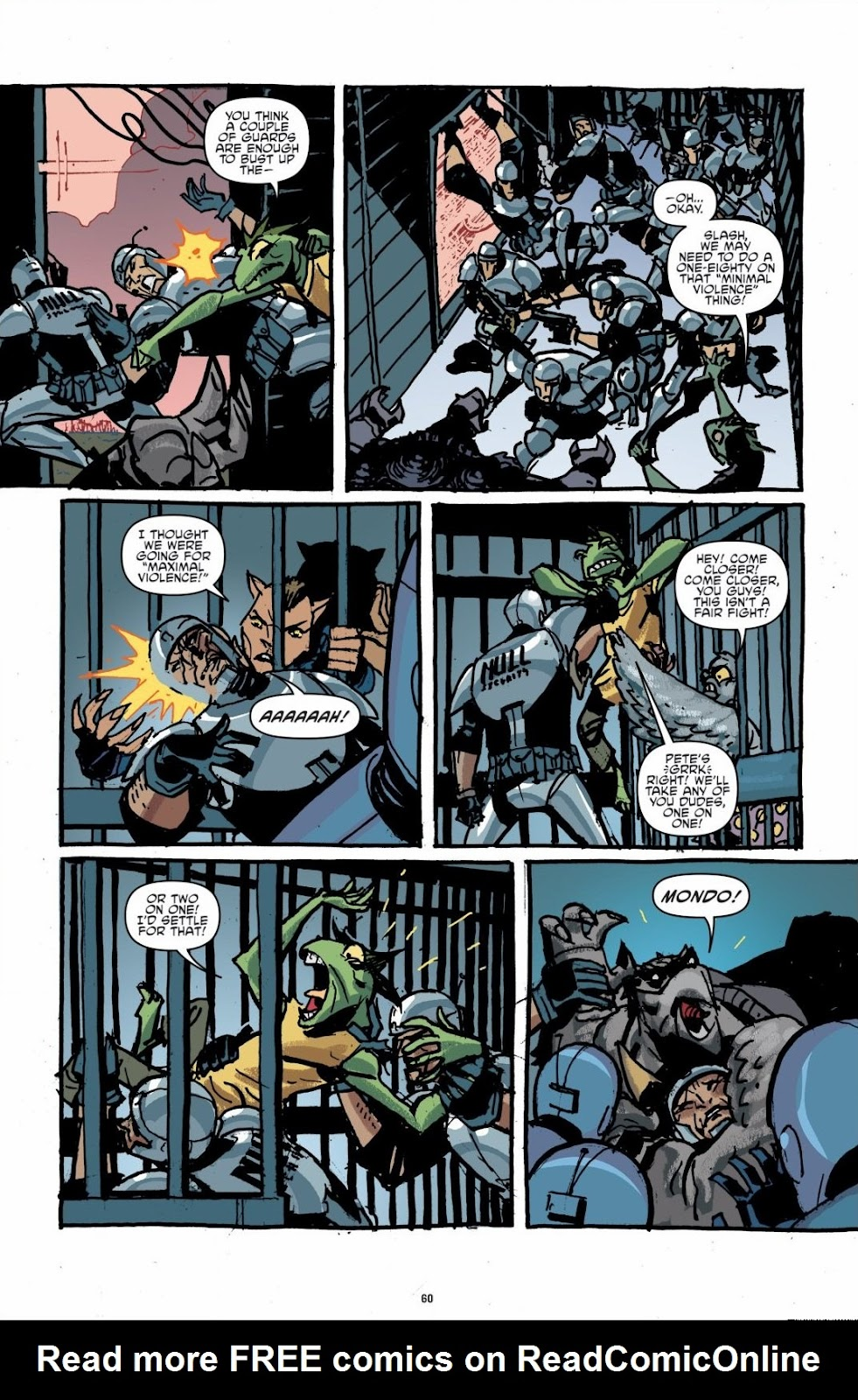 Read online Teenage Mutant Ninja Turtles: The IDW Collection comic -  Issue # TPB 6 (Part 1) - 59