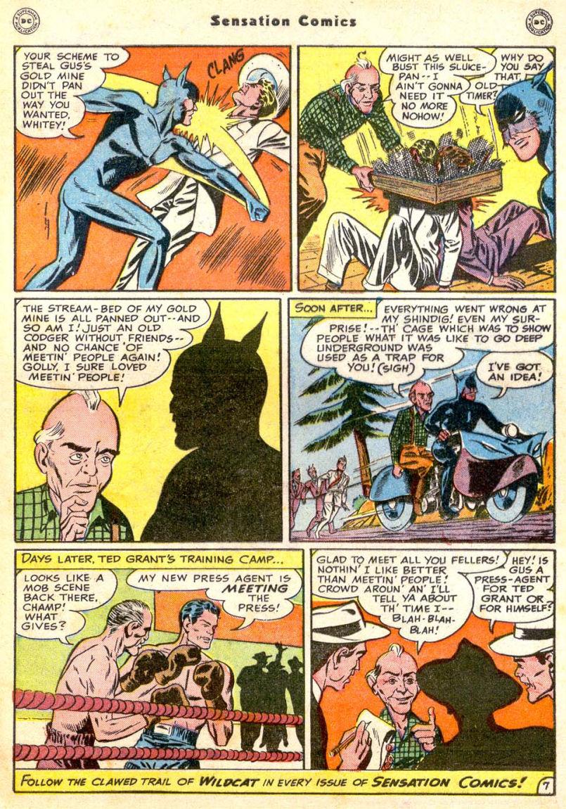 Read online Sensation (Mystery) Comics comic -  Issue #85 - 48
