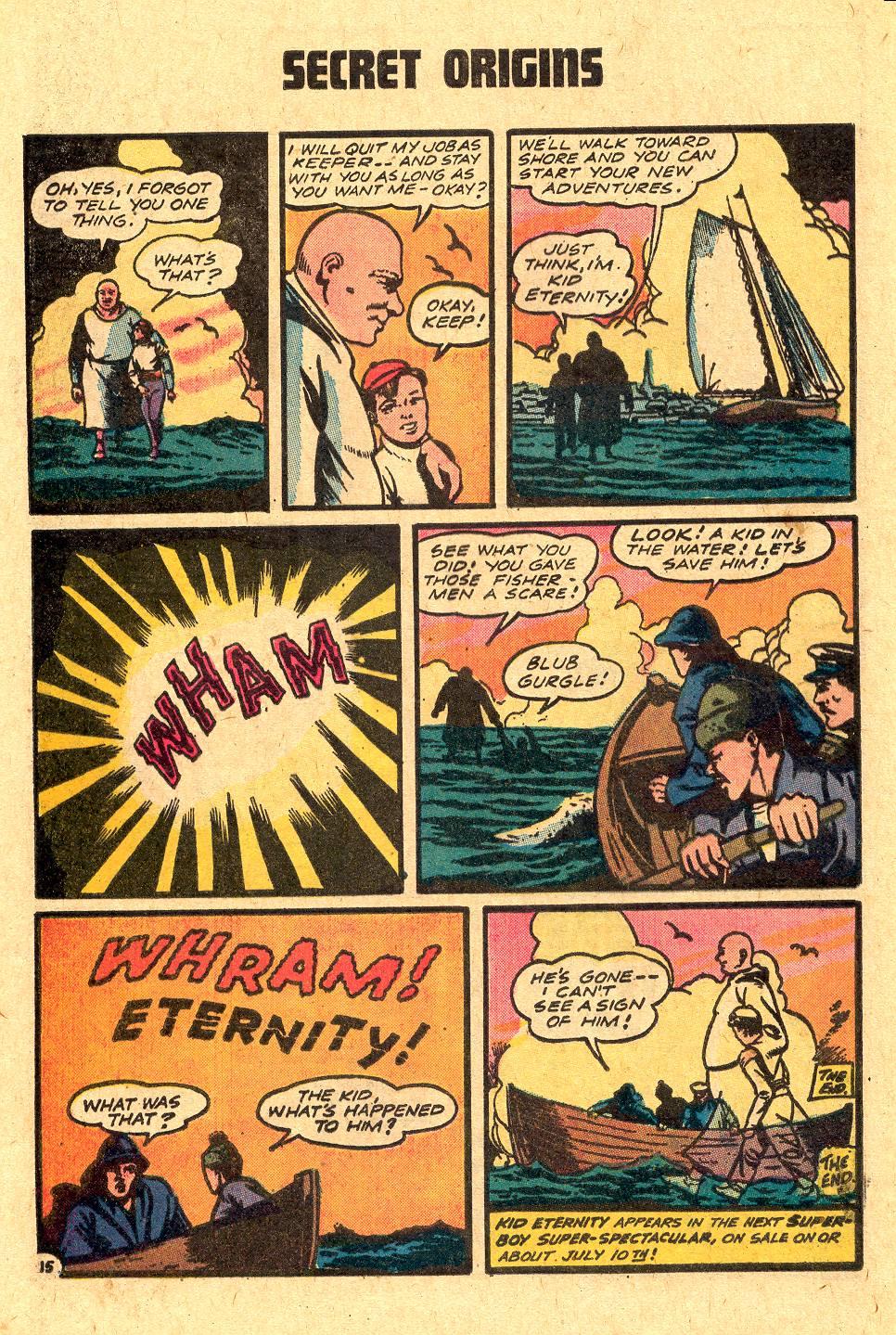 Read online Secret Origins (1973) comic -  Issue #4 - 32