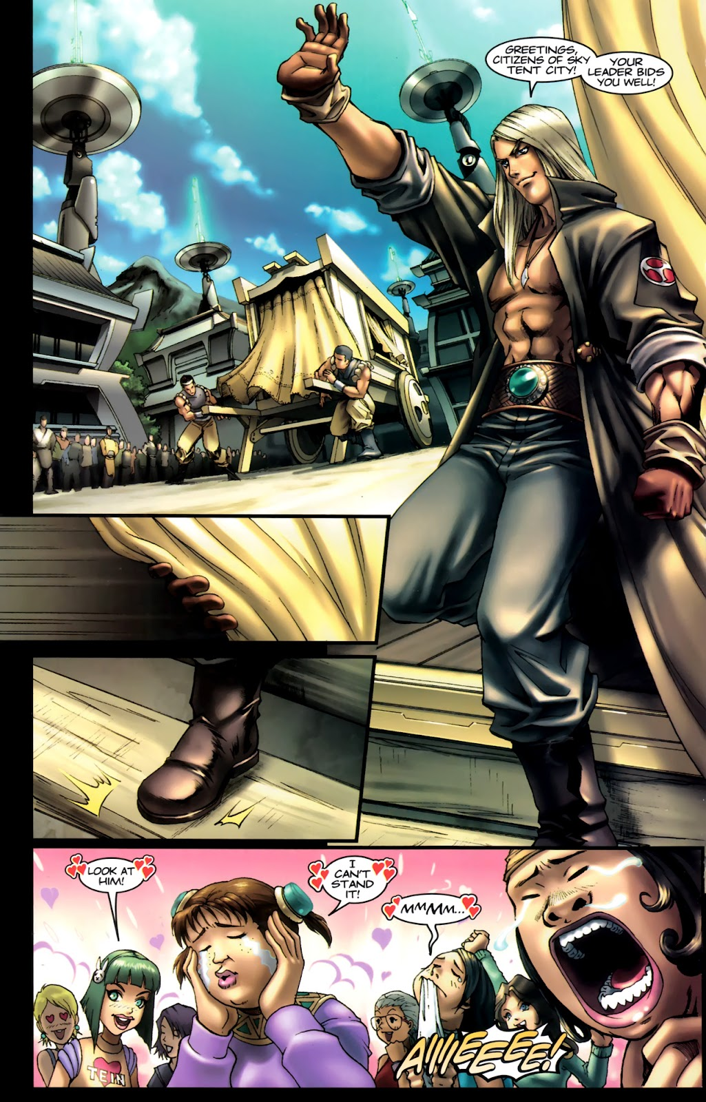 Read online Xin: Journey of the Monkey King comic -  Issue #1 - 7
