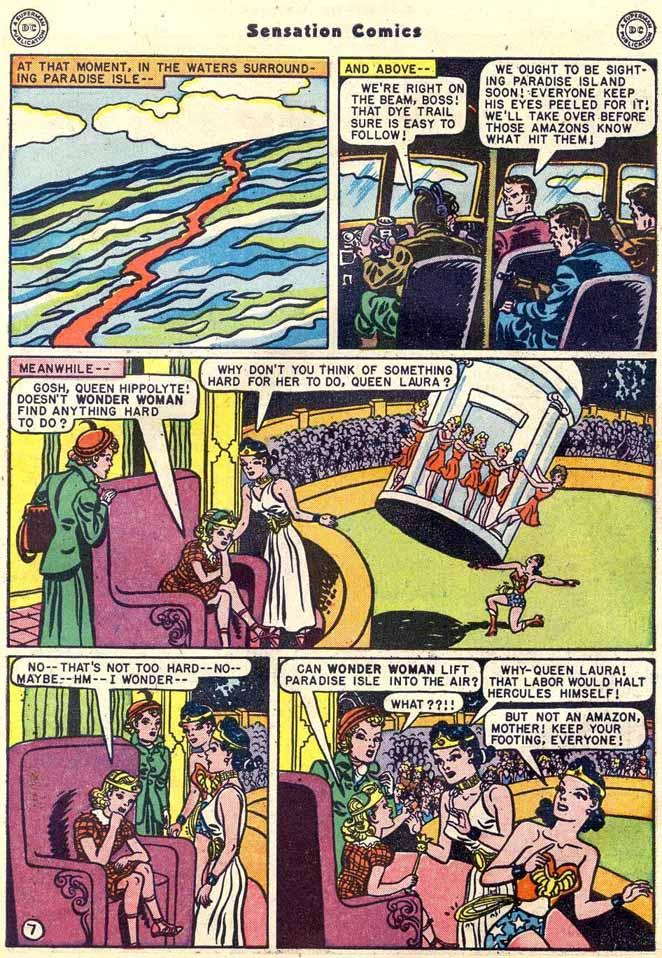 Read online Sensation (Mystery) Comics comic -  Issue #89 - 9