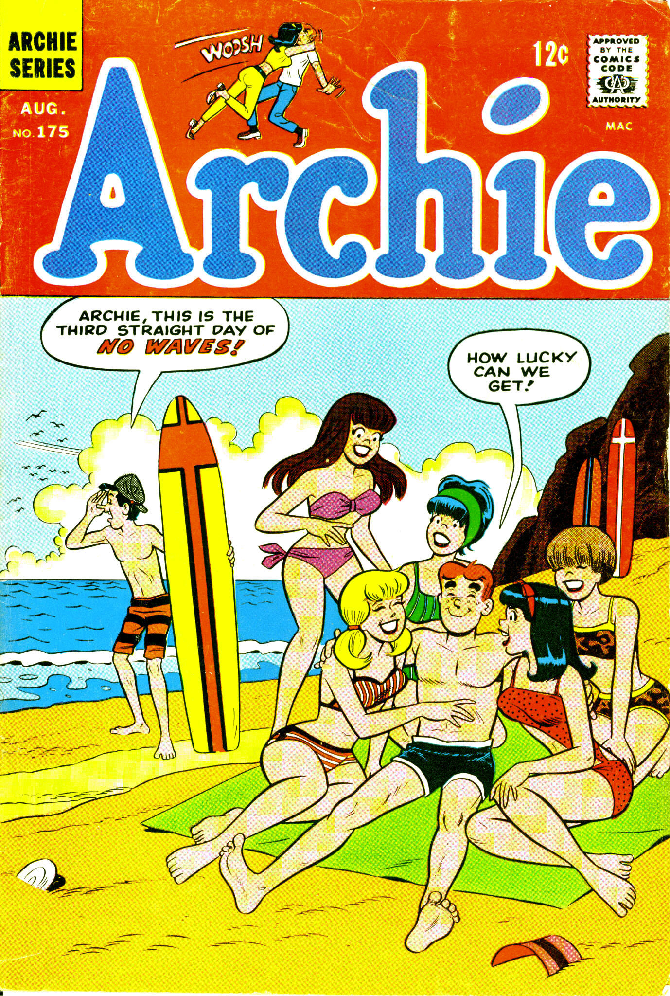 Read online Archie (1960) comic -  Issue #175 - 1