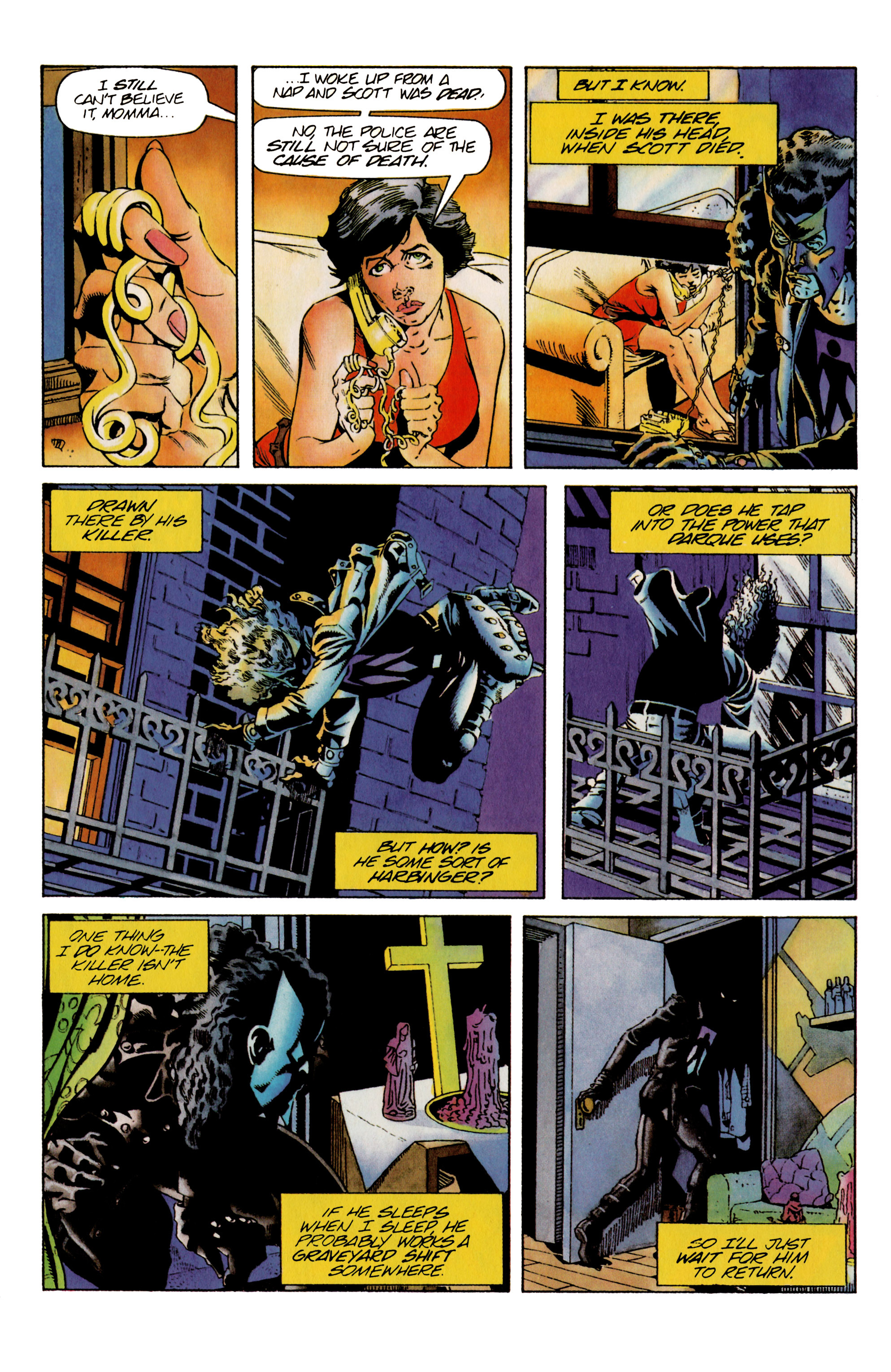 Read online Shadowman (1992) comic -  Issue #25 - 9