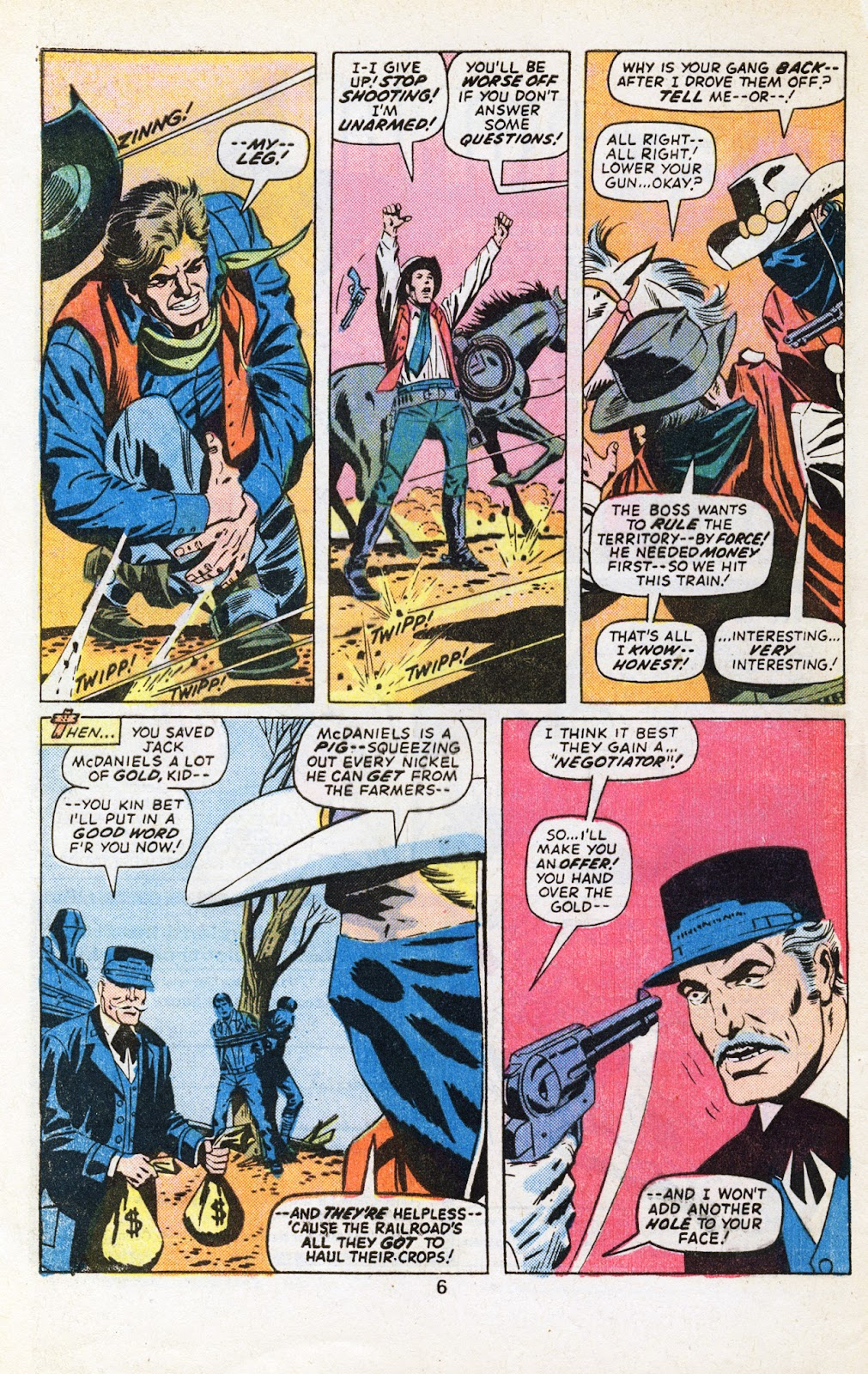 The Outlaw Kid (1970) issue 29 - Page 8