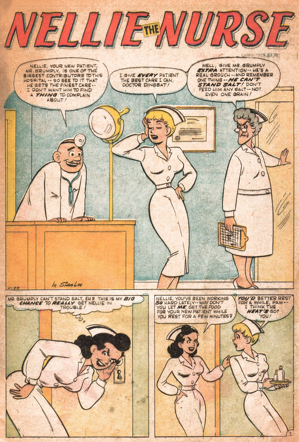 Read online Nellie The Nurse (1957) comic -  Issue # Full - 6