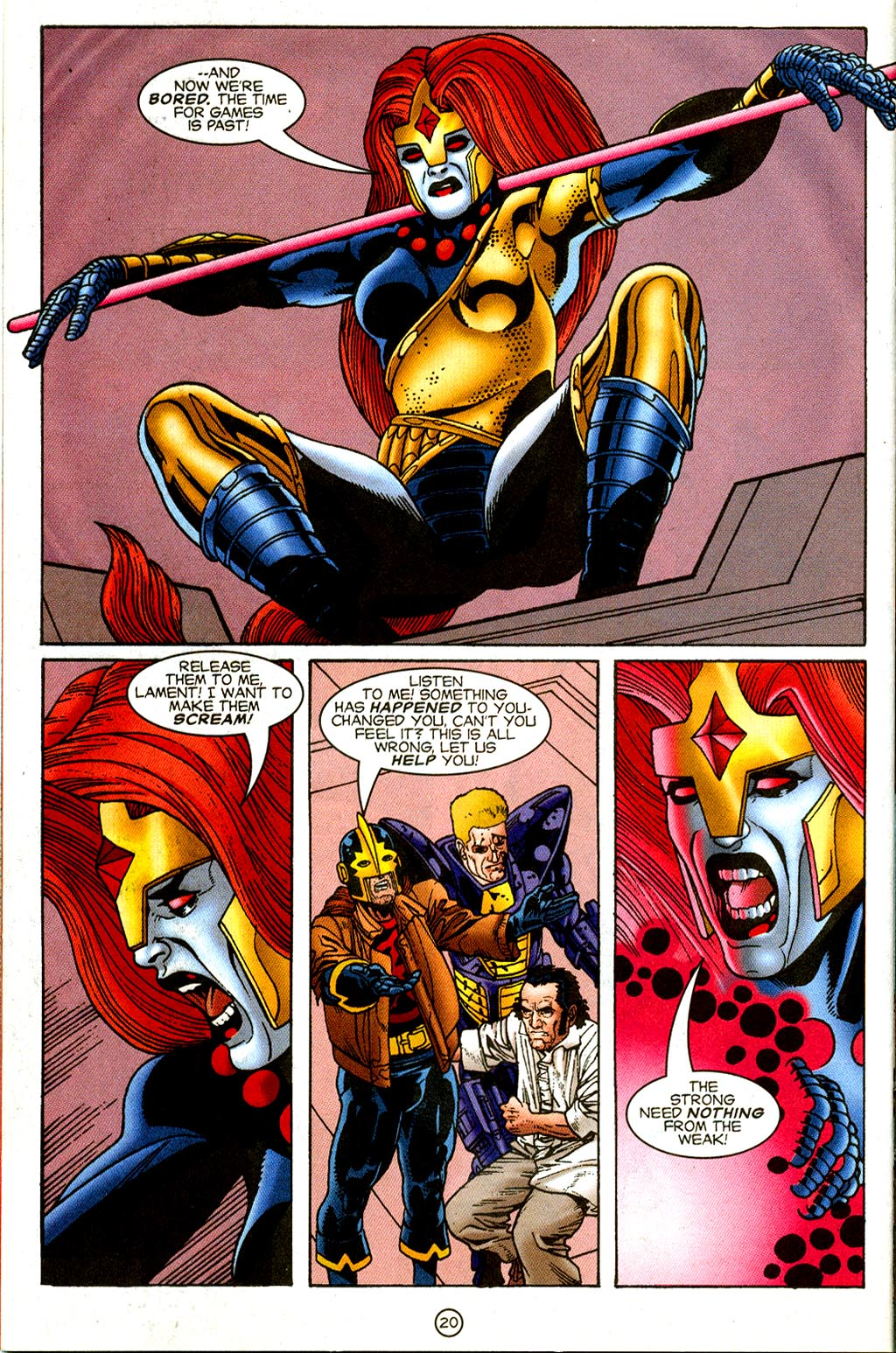 Read online UltraForce (1995) comic -  Issue #8 - 21