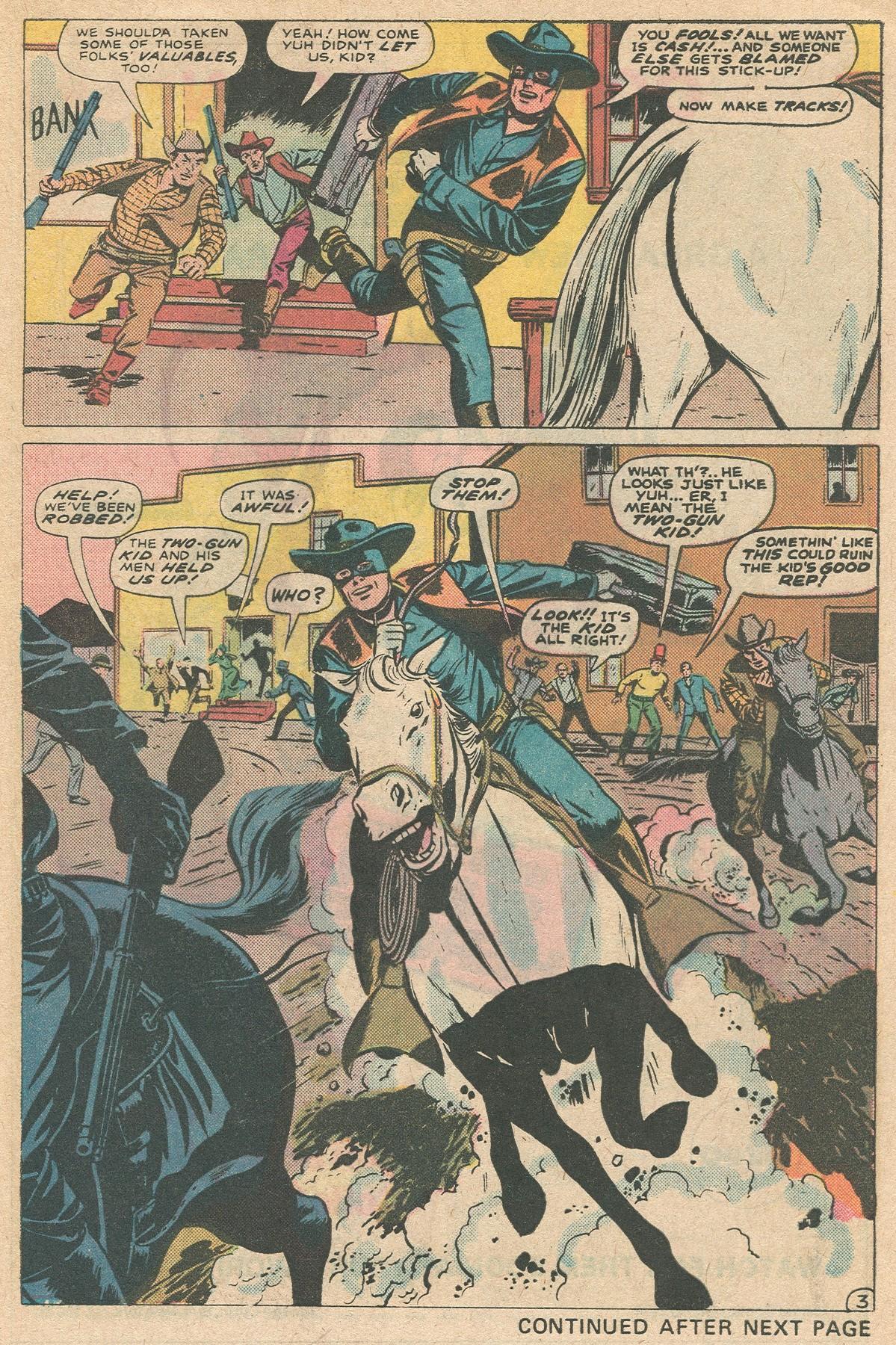Read online Two-Gun Kid comic -  Issue #124 - 5