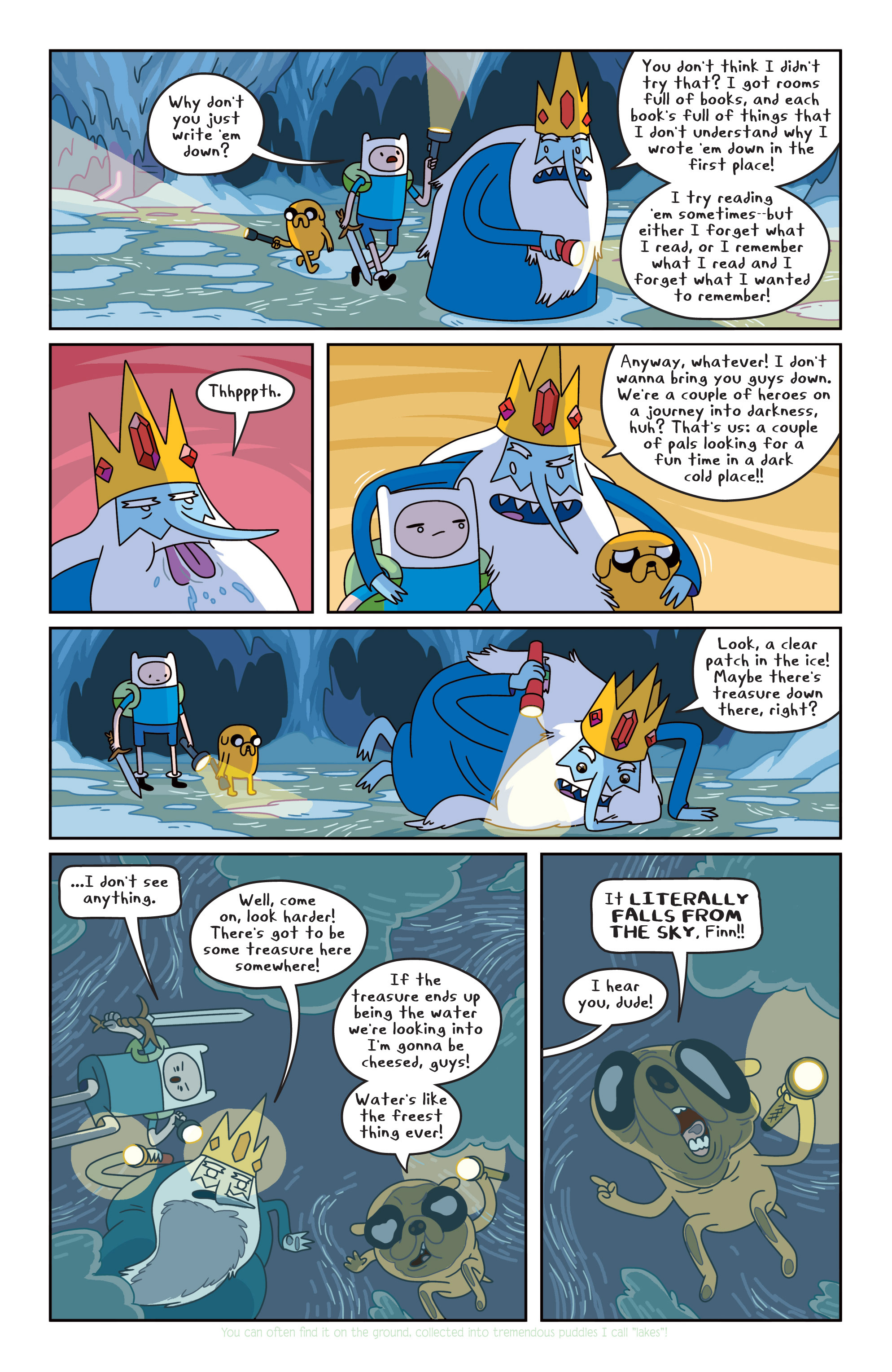 Read online Adventure Time comic -  Issue #16 - 21