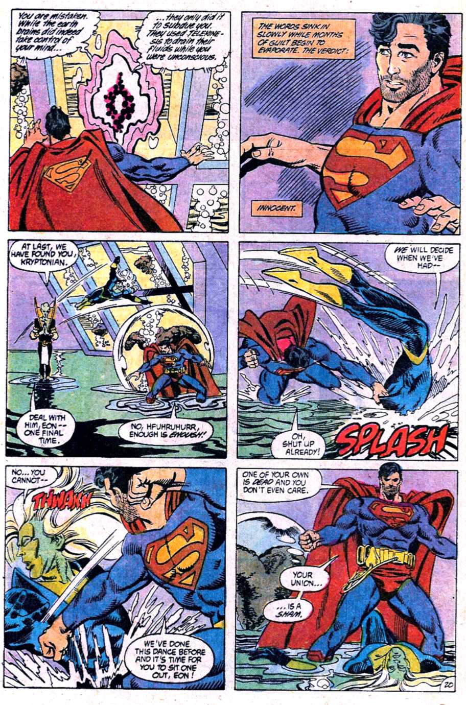 Read online Adventures of Superman (1987) comic -  Issue #452 - 21