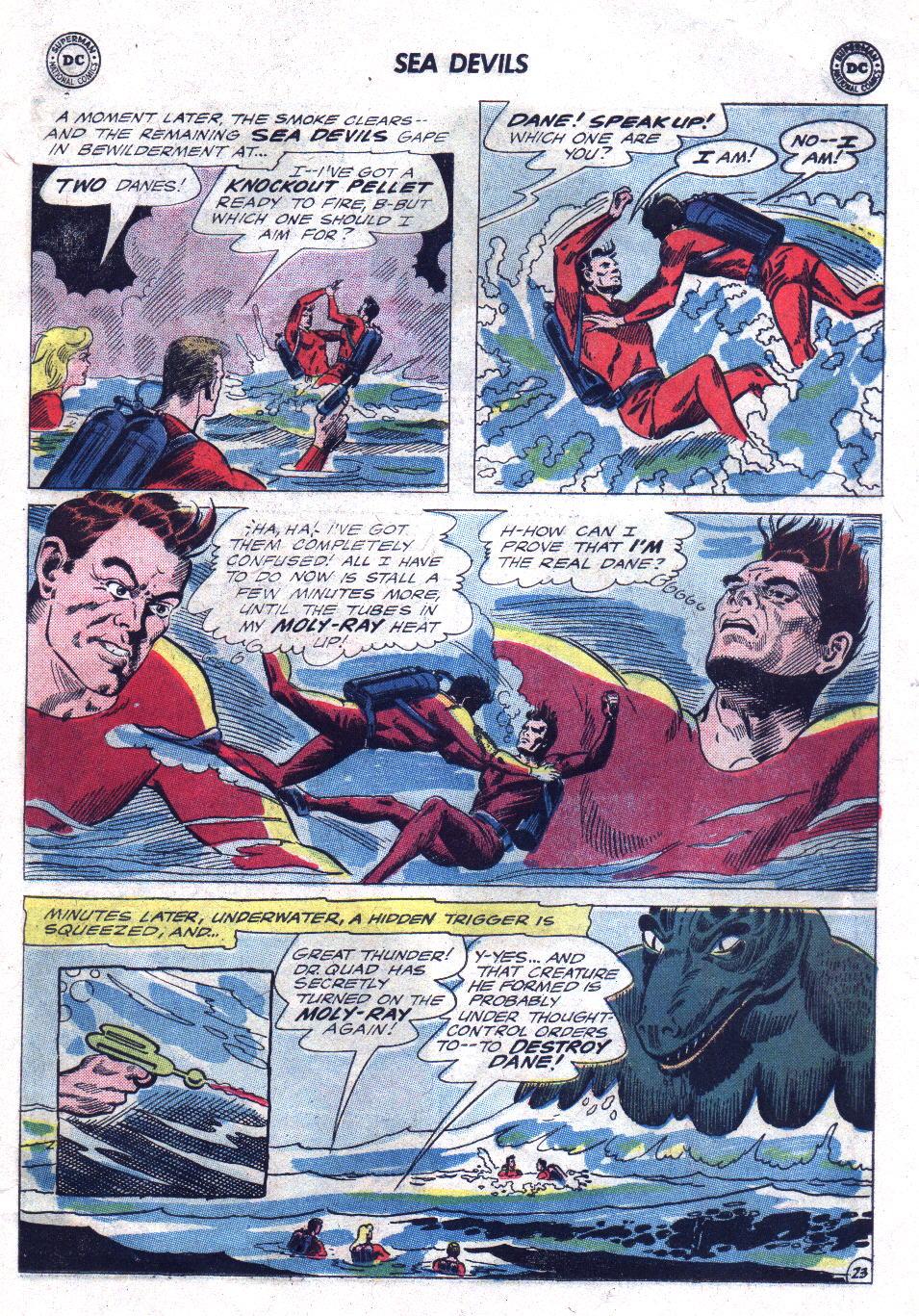 Read online Sea Devils comic -  Issue #21 - 31