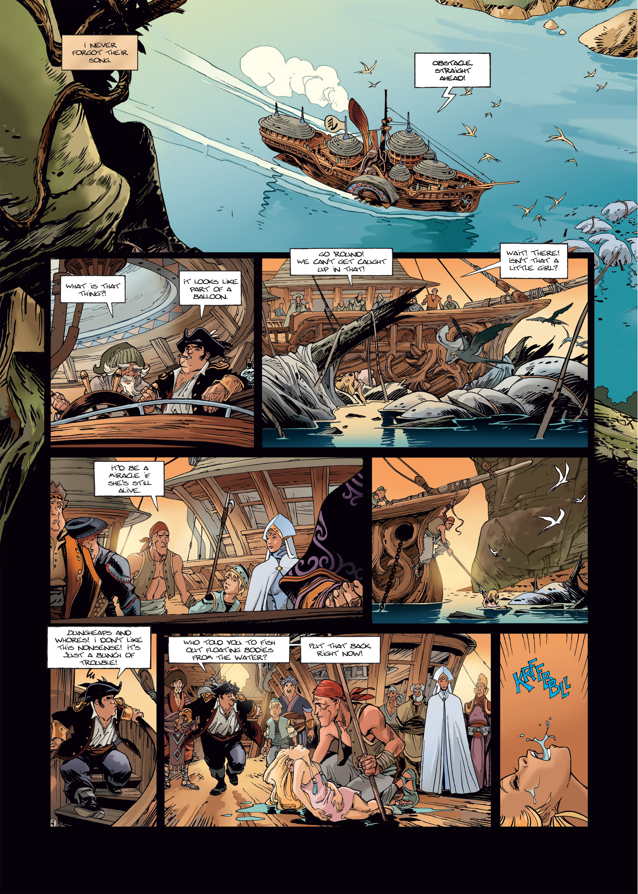 Read online Sangre Vol. 1: Sangre the Survivor comic -  Issue # Full - 12