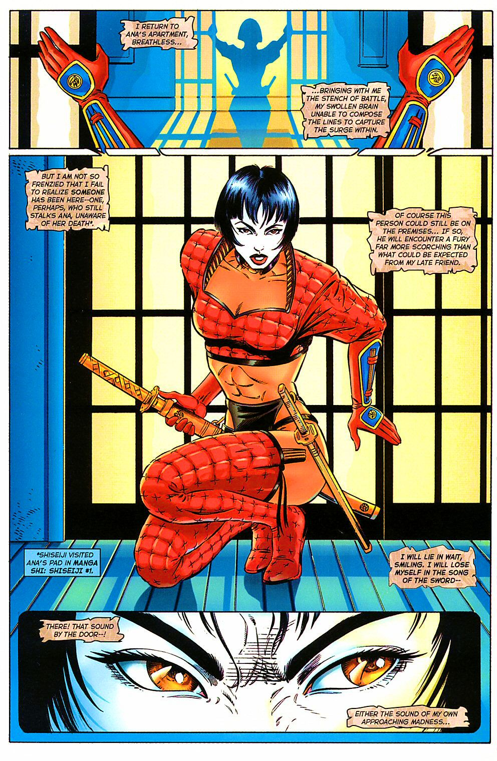 Read online Shi: The Way of the Warrior comic -  Issue #10 - 16