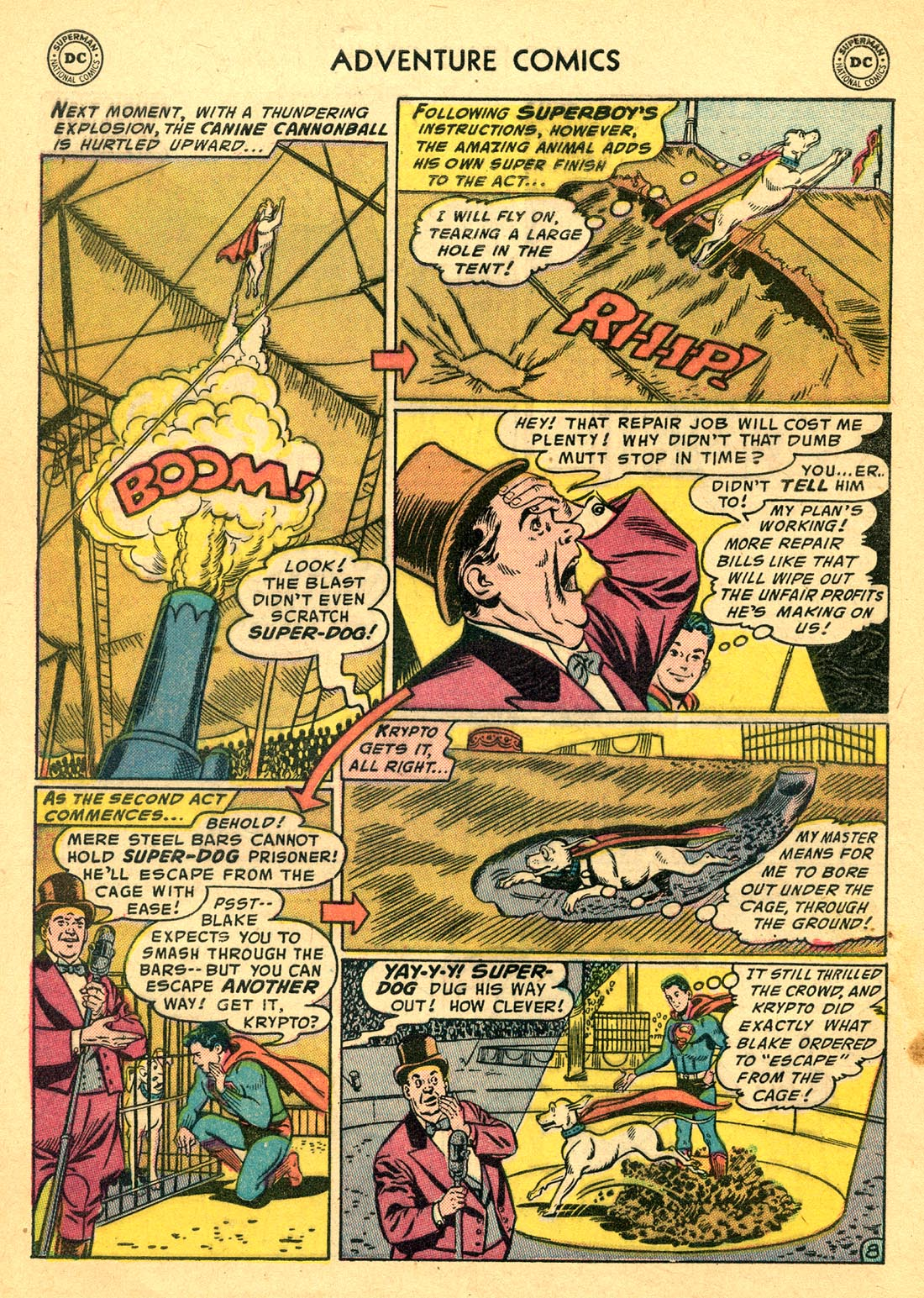 Read online Adventure Comics (1938) comic -  Issue #220 - 10