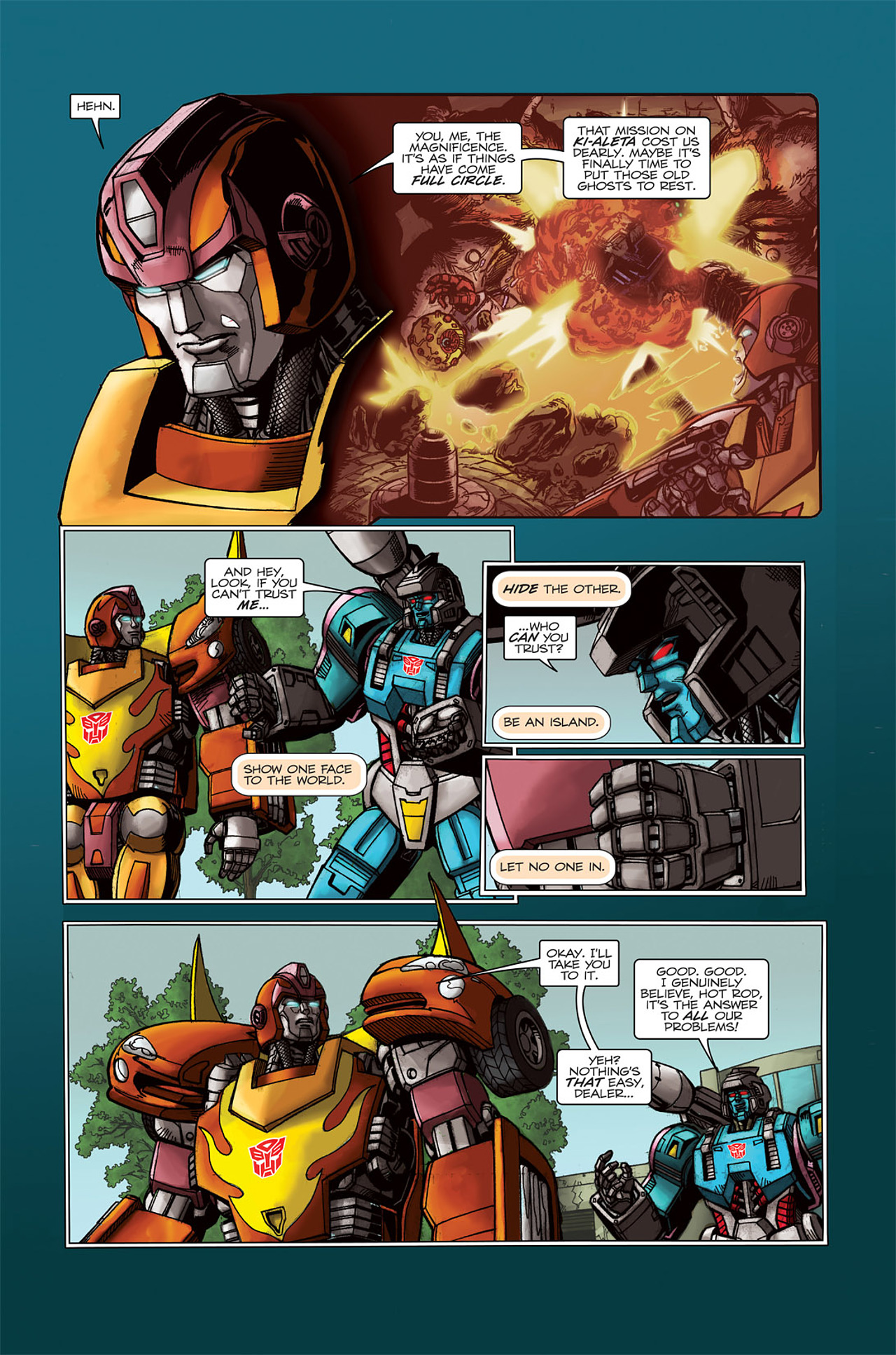 Read online Transformers Spotlight: Doubledealer comic -  Issue # Full - 6