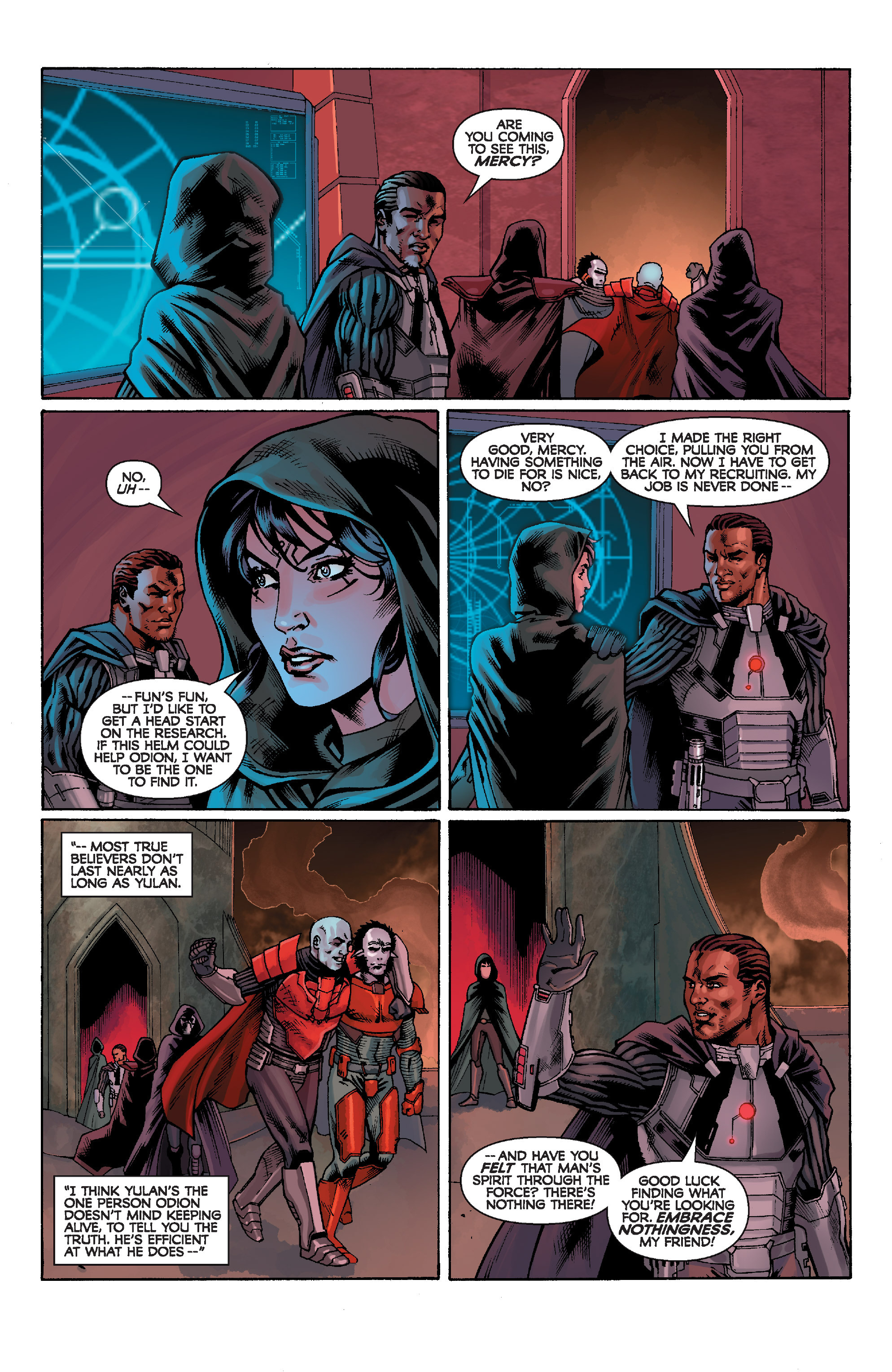 Read online Star Wars: Knight Errant - Escape comic -  Issue #1 - 22
