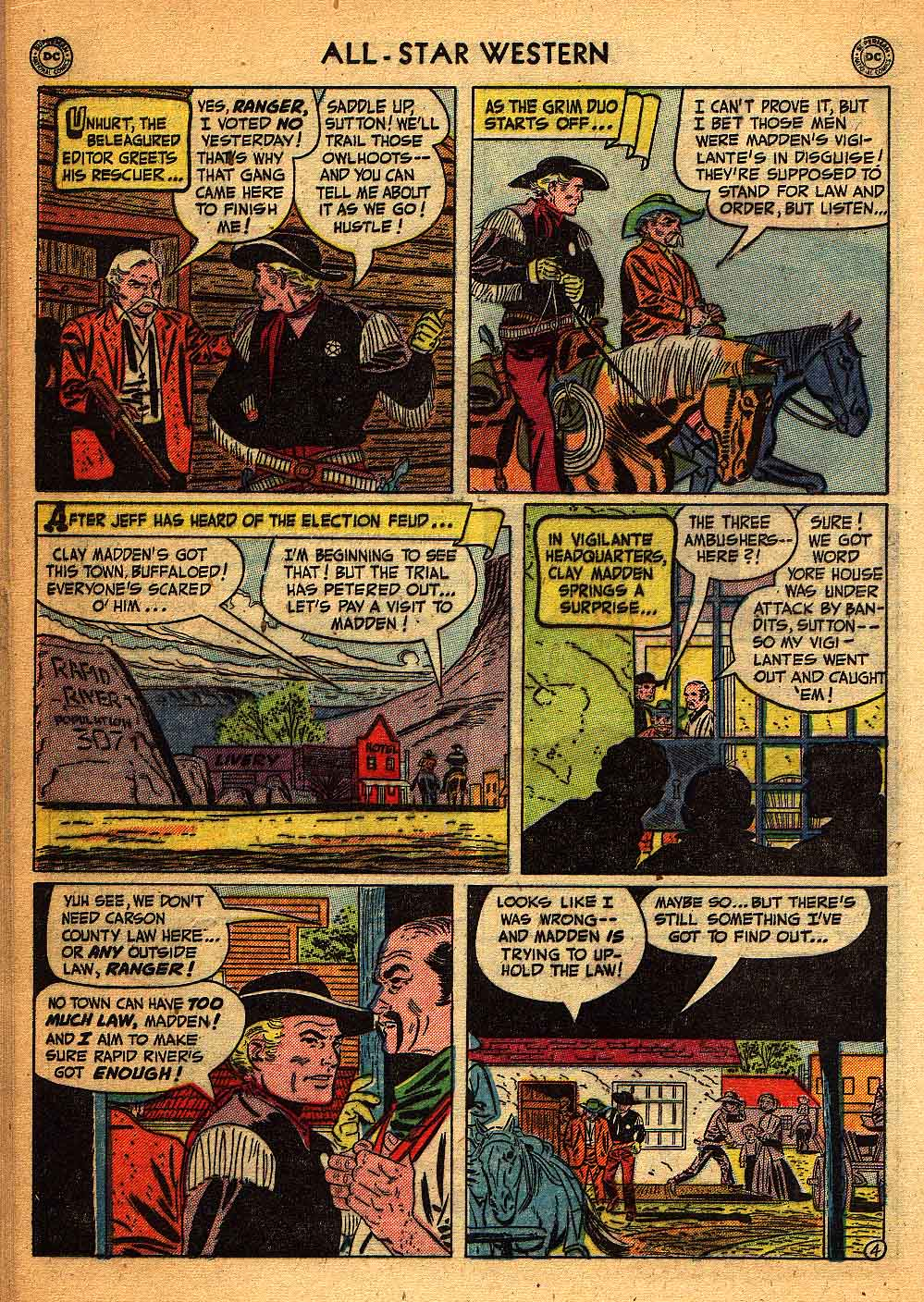 Read online All-Star Western (1951) comic -  Issue #58 - 28