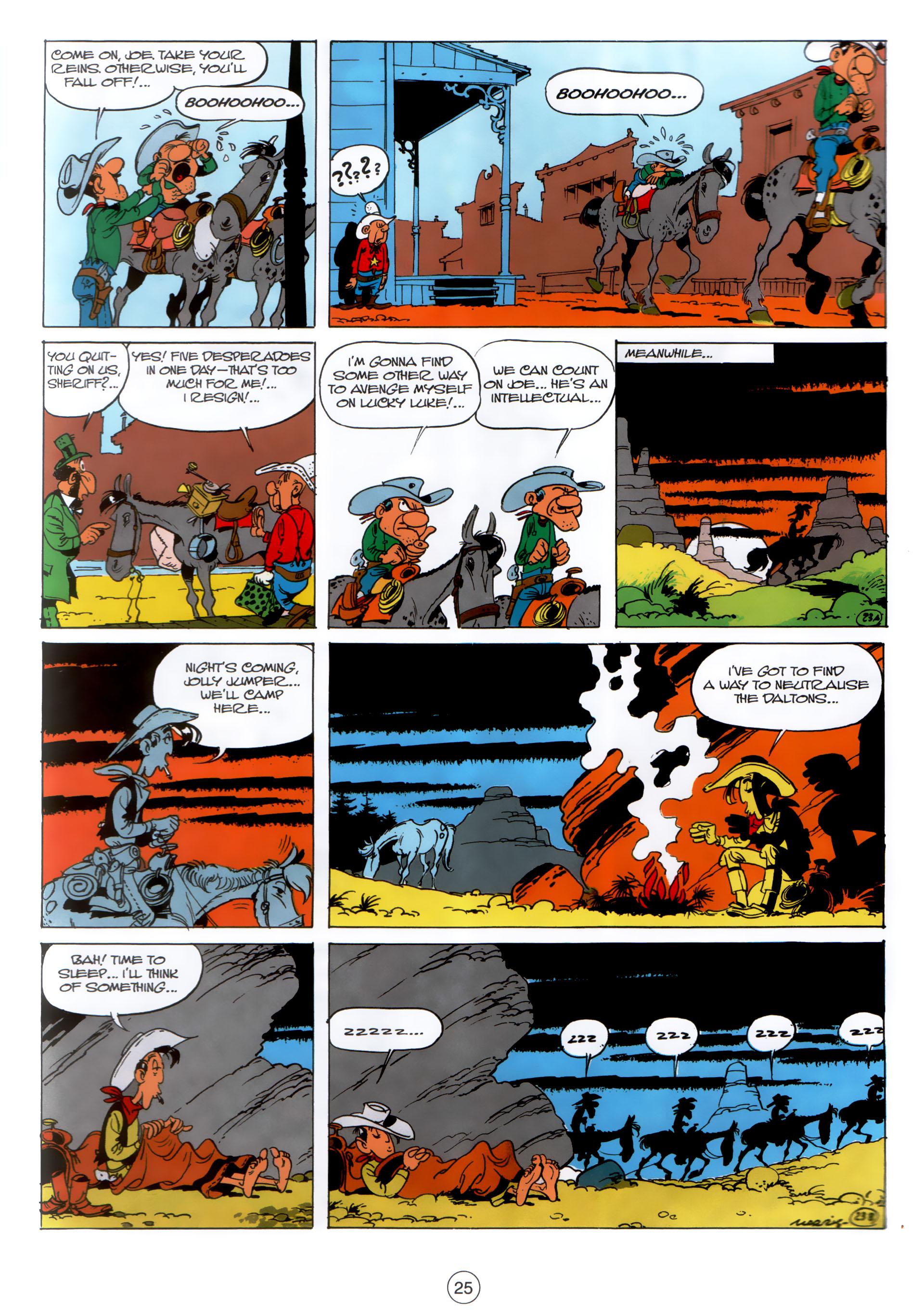 Read online A Lucky Luke Adventure comic -  Issue #30 - 24