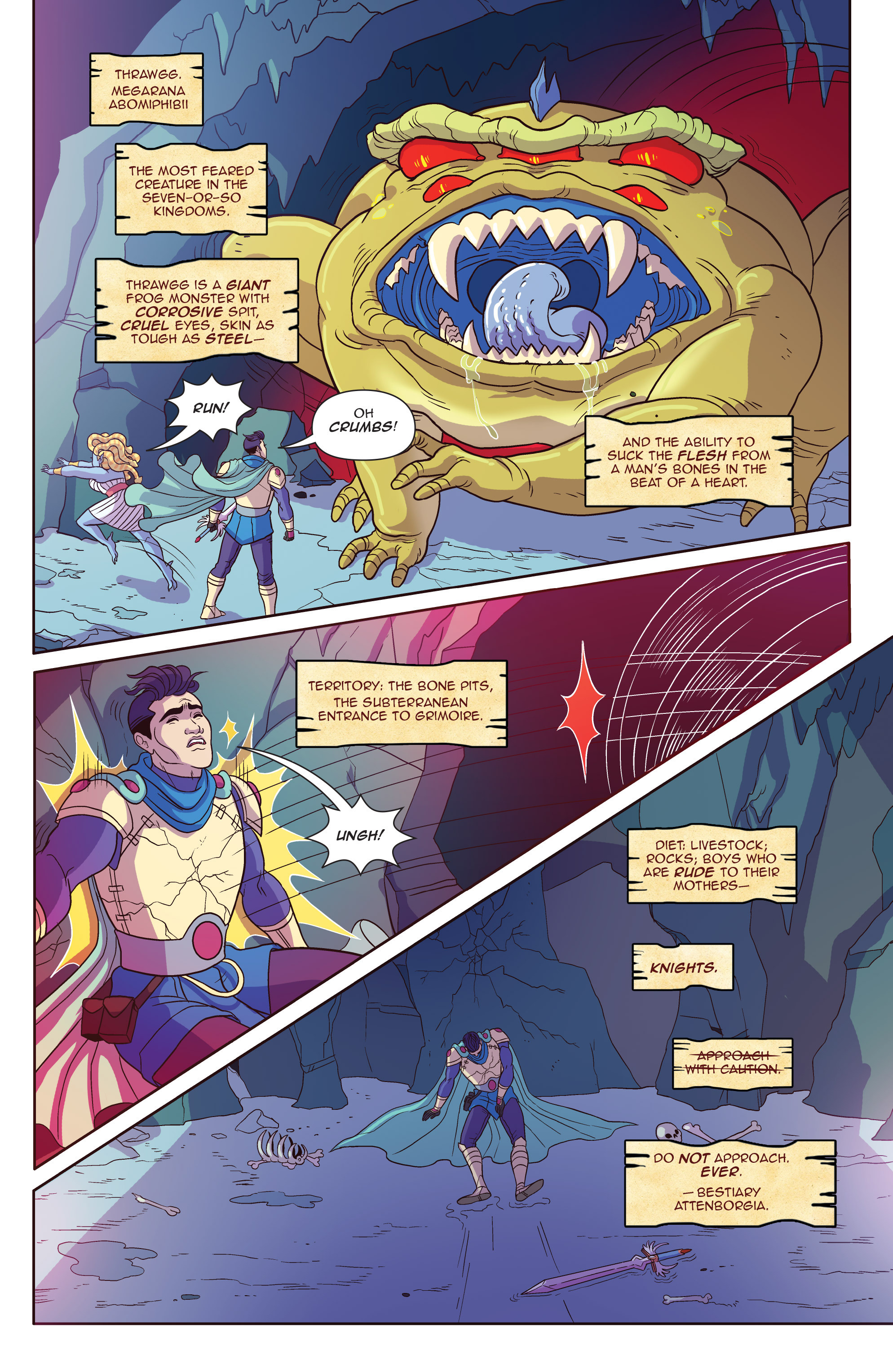 Read online Another Castle comic -  Issue #4 - 6