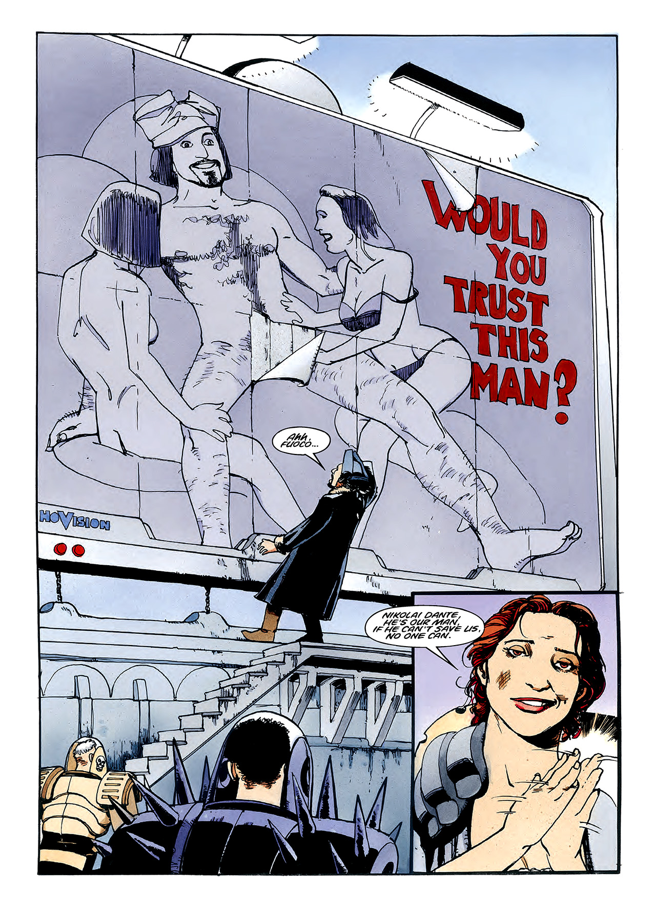 Read online Nikolai Dante comic -  Issue # TPB 3 - 104