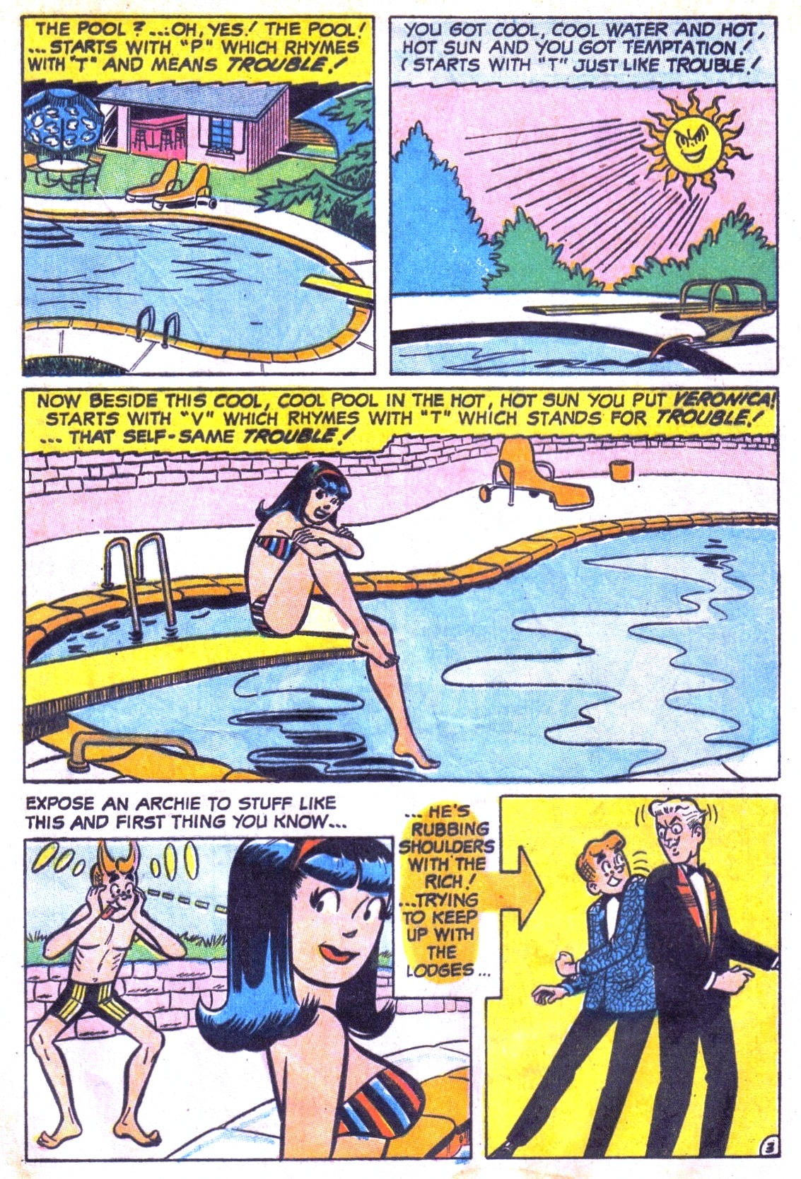 Read online Archie (1960) comic -  Issue #186 - 5