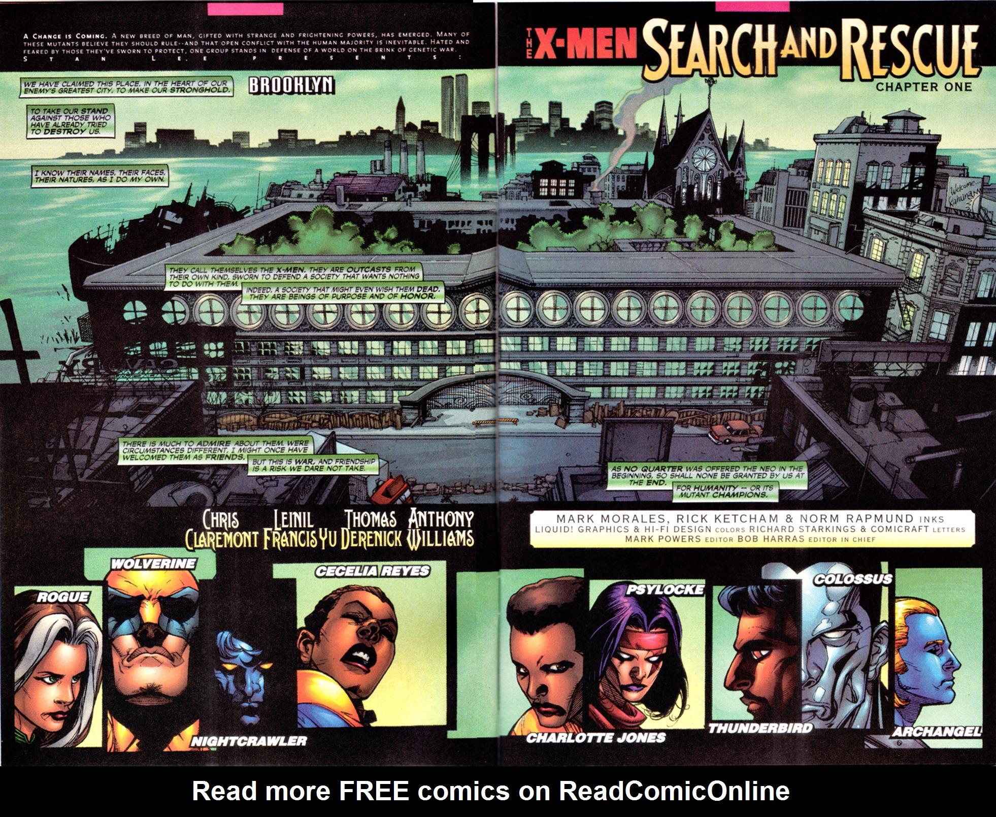 X-Men (1991) 106 Page 2