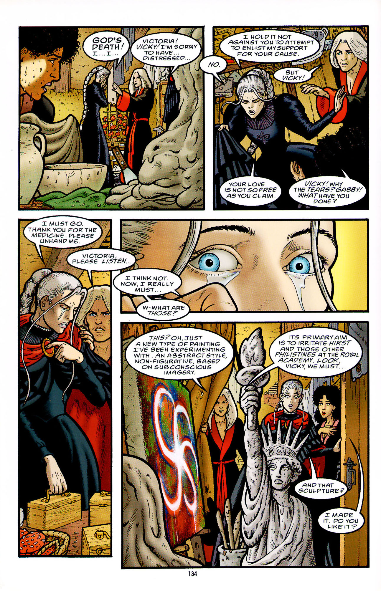 Read online Heart of Empire comic -  Issue #5 - 10