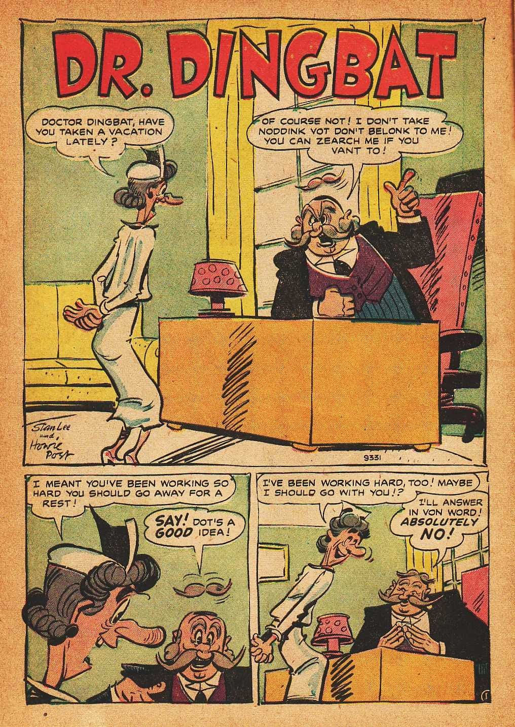 Read online Nellie The Nurse (1945) comic -  Issue #32 - 10