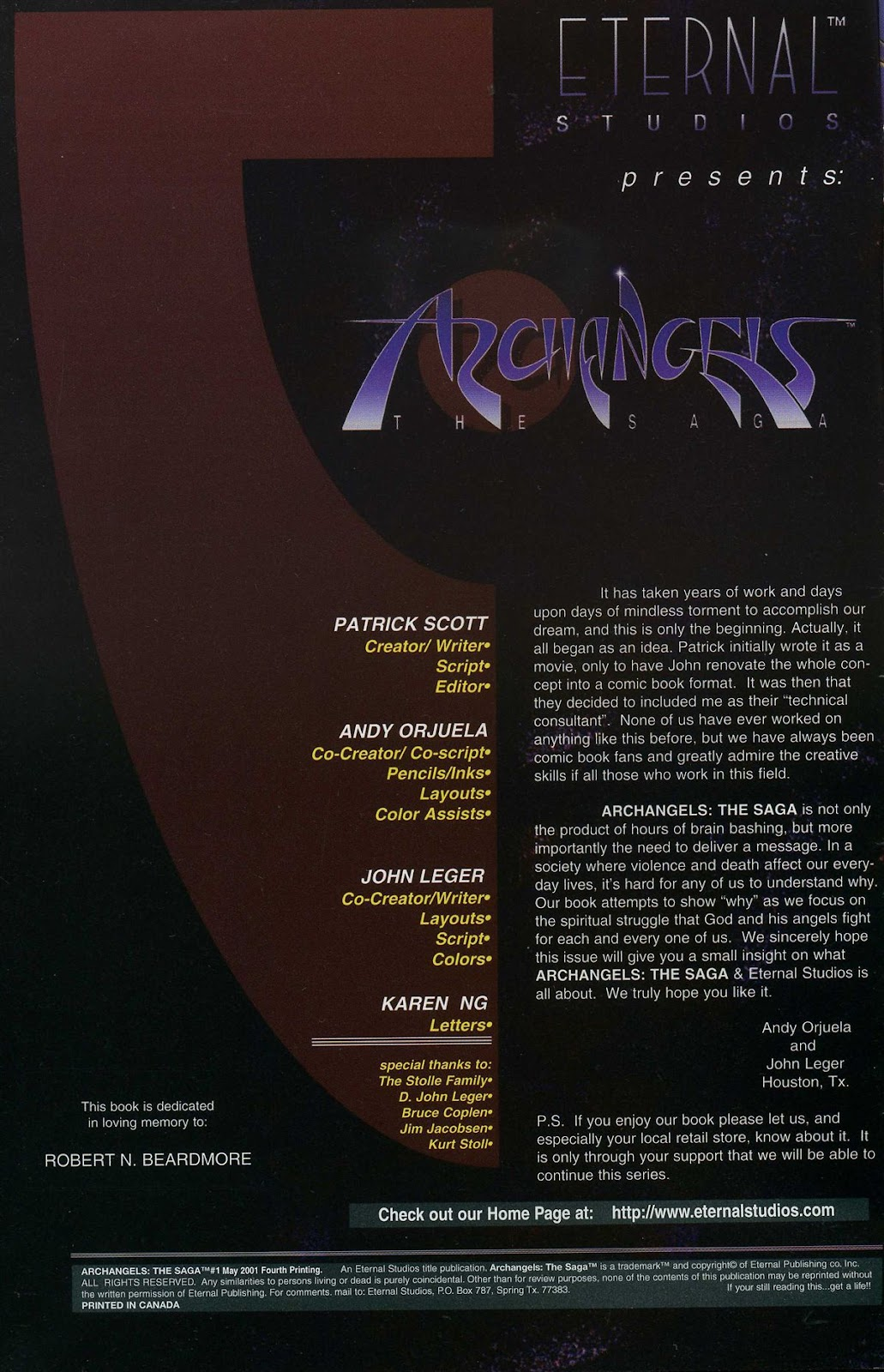 ArchAngels: The Saga issue 1 - Page 3