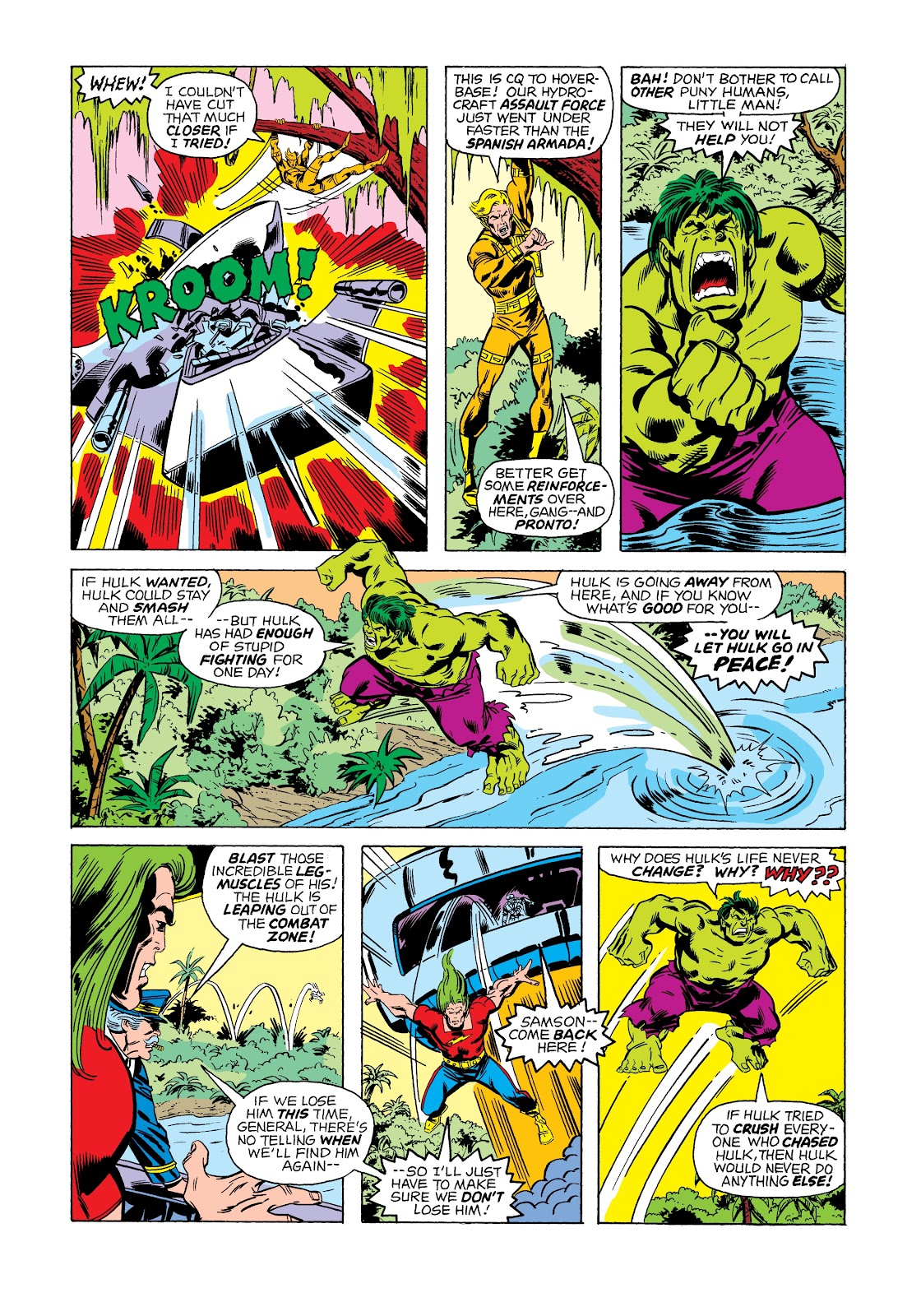 Read online Marvel Masterworks: The Incredible Hulk comic -  Issue # TPB 12 (Part 1) - 95