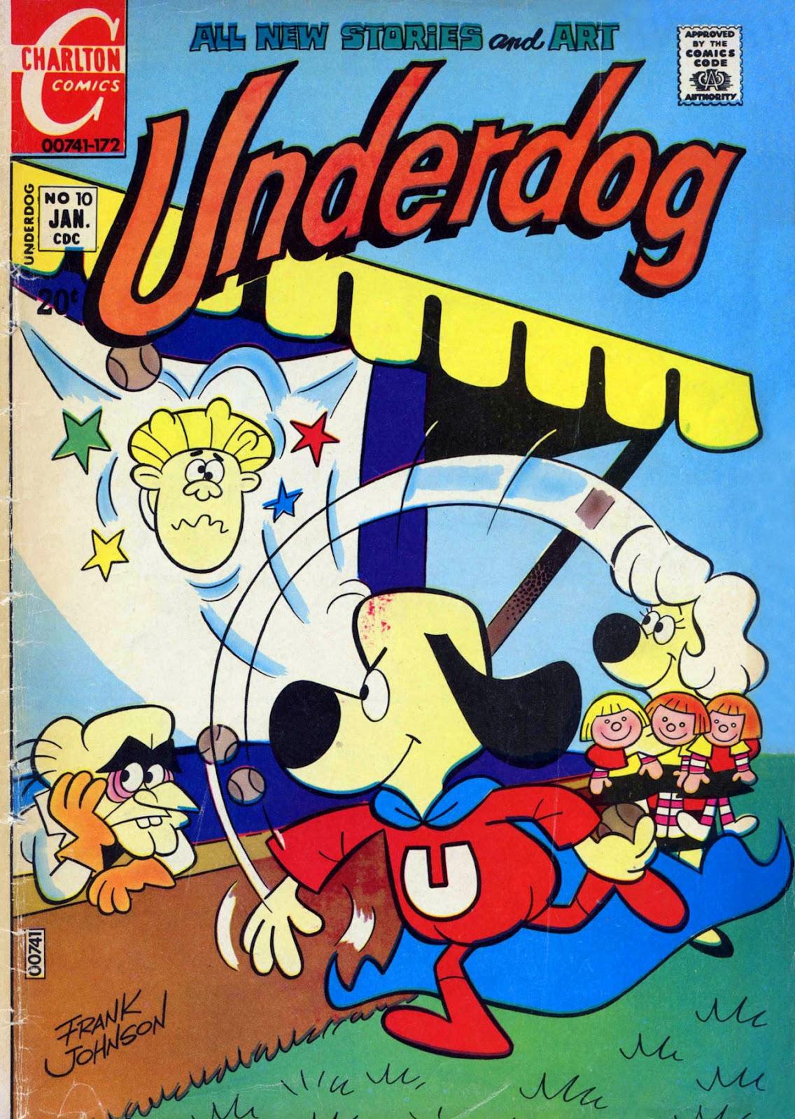 Underdog (1970) issue 10 - Page 1