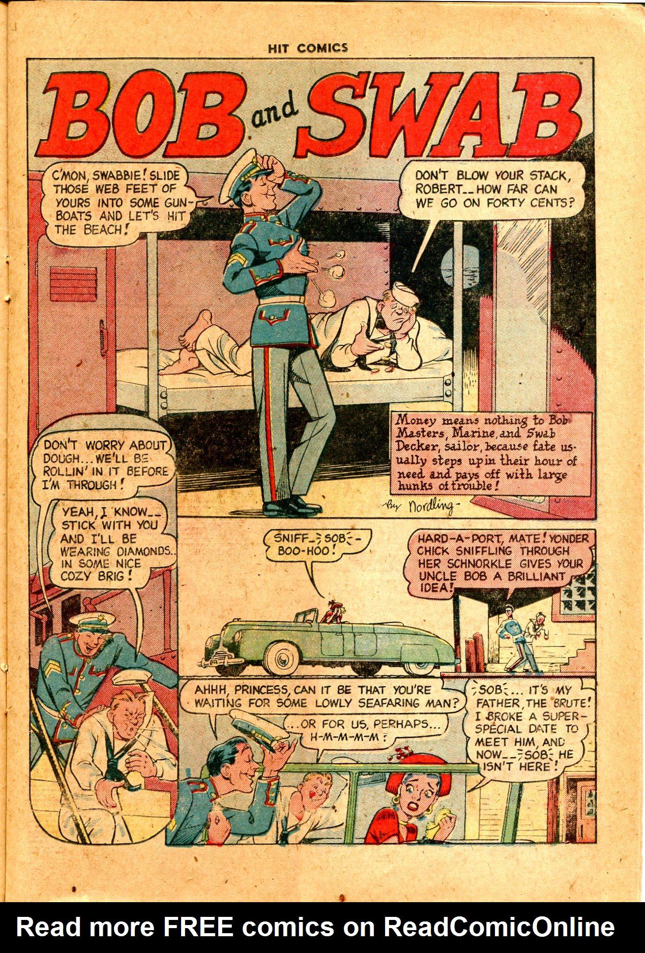Read online Hit Comics comic -  Issue #57 - 21